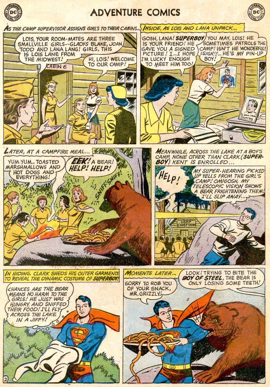 Read online Adventure Comics (1938) comic -  Issue #261 - 4