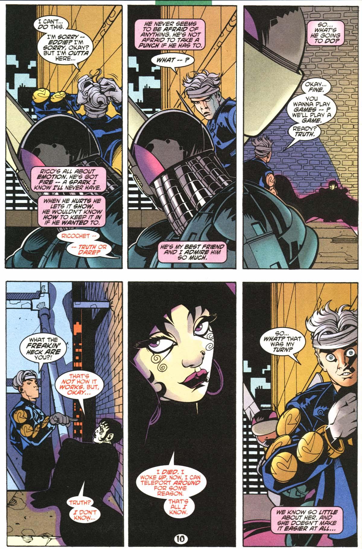 Read online Slingers comic -  Issue #6 - 11