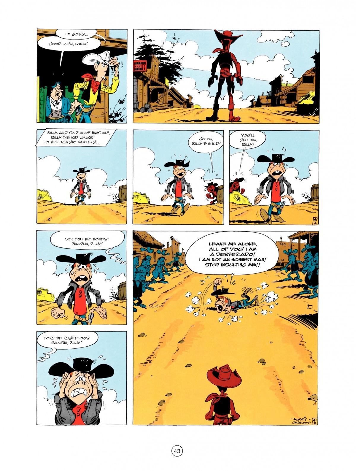 Read online A Lucky Luke Adventure comic -  Issue #1 - 45