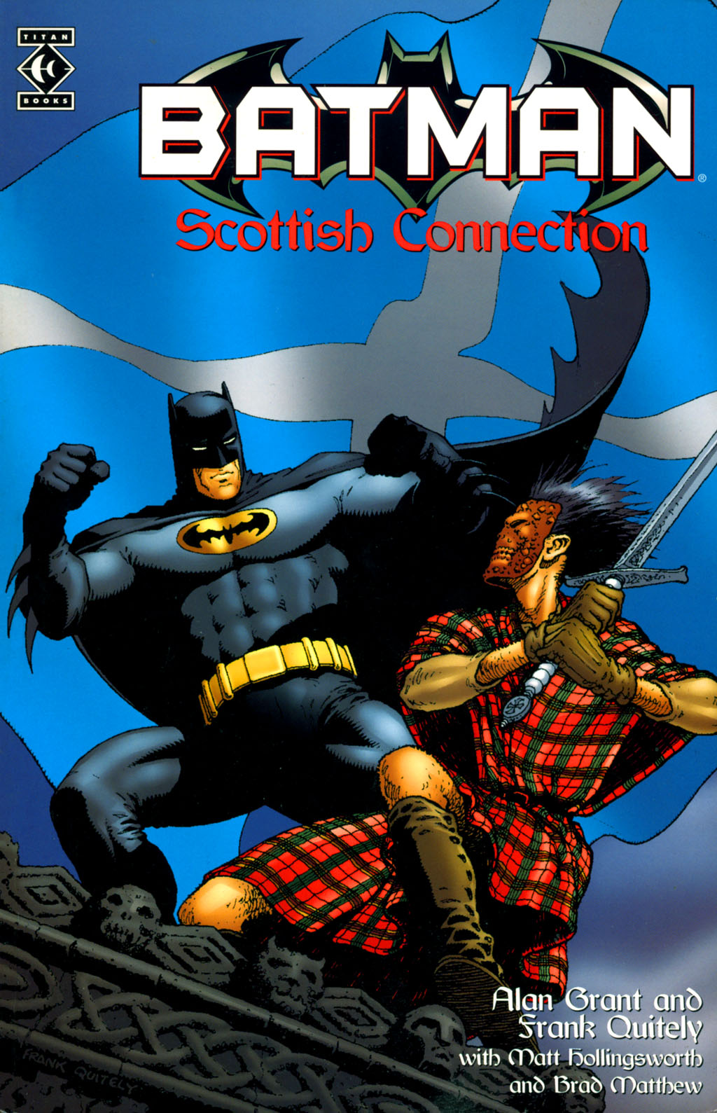 Batman: Scottish Connection Full Page 1