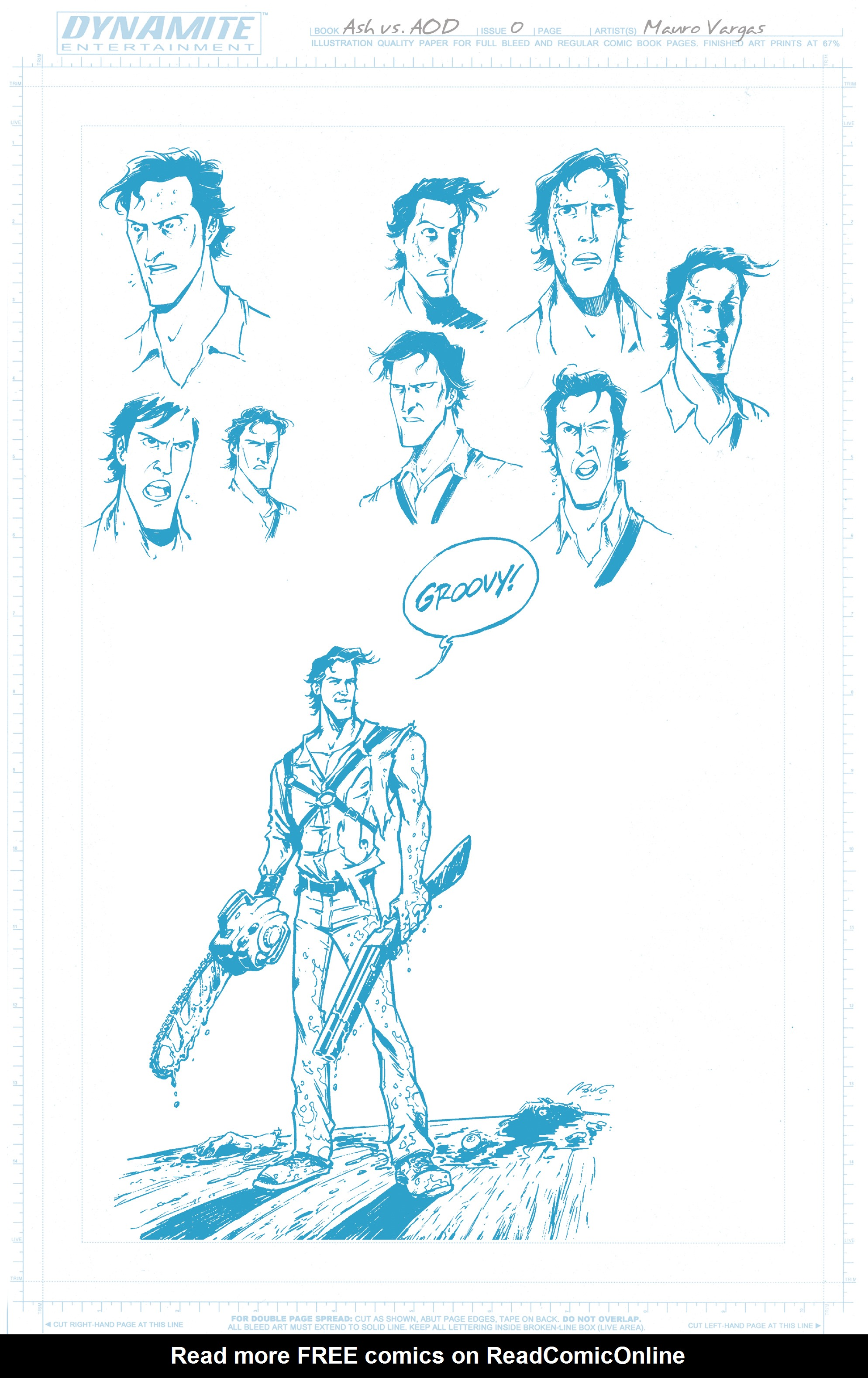 Read online Ash Vs. The Army of Darkness comic -  Issue #0 - 22