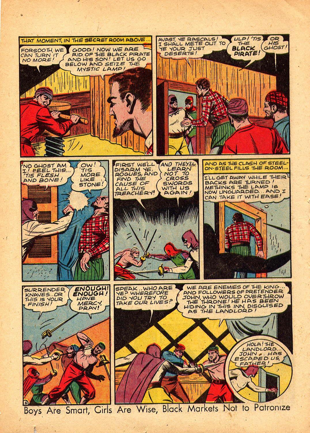 Read online Sensation (Mystery) Comics comic -  Issue #30 - 22