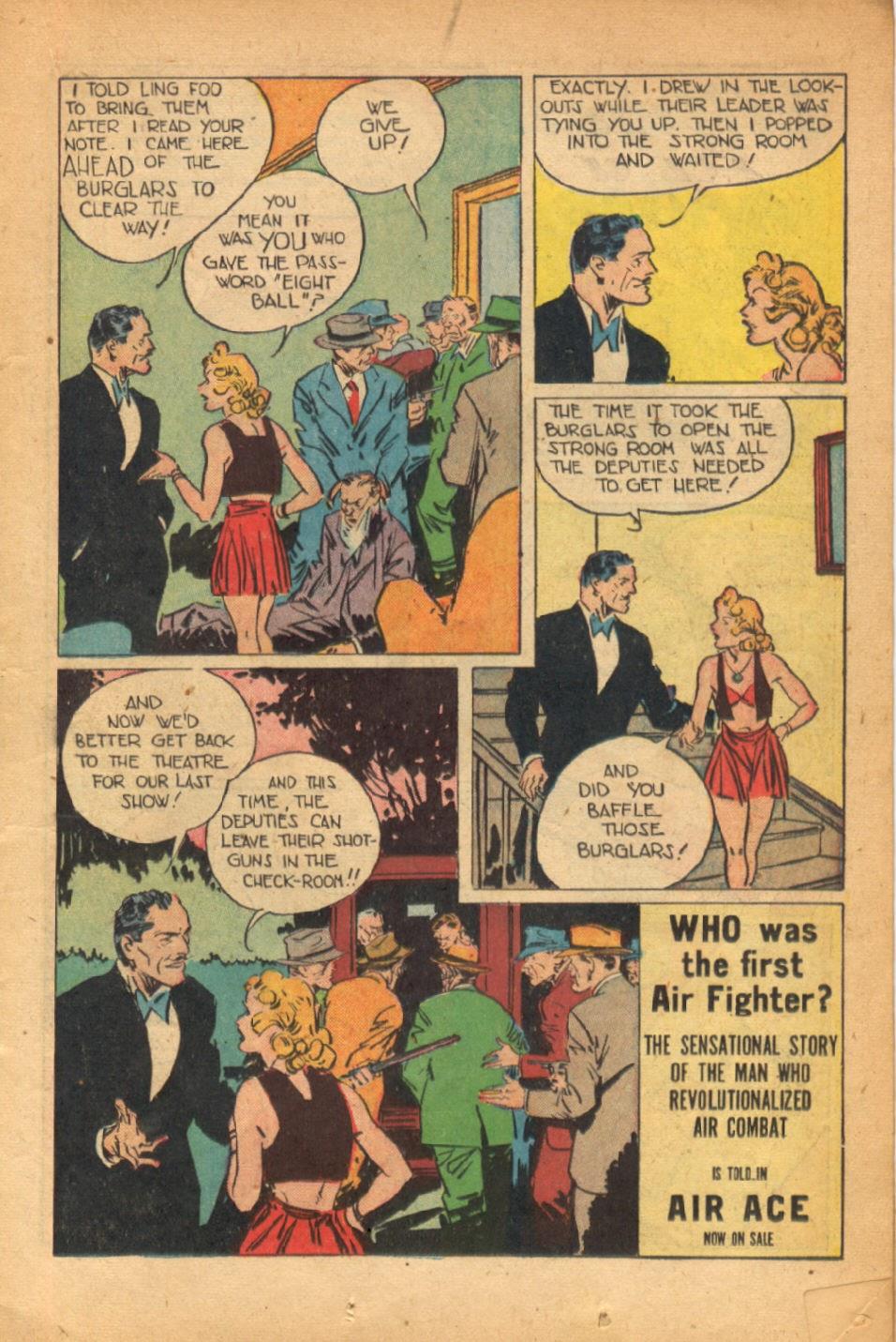 Read online Super-Magician Comics comic -  Issue #54 - 18