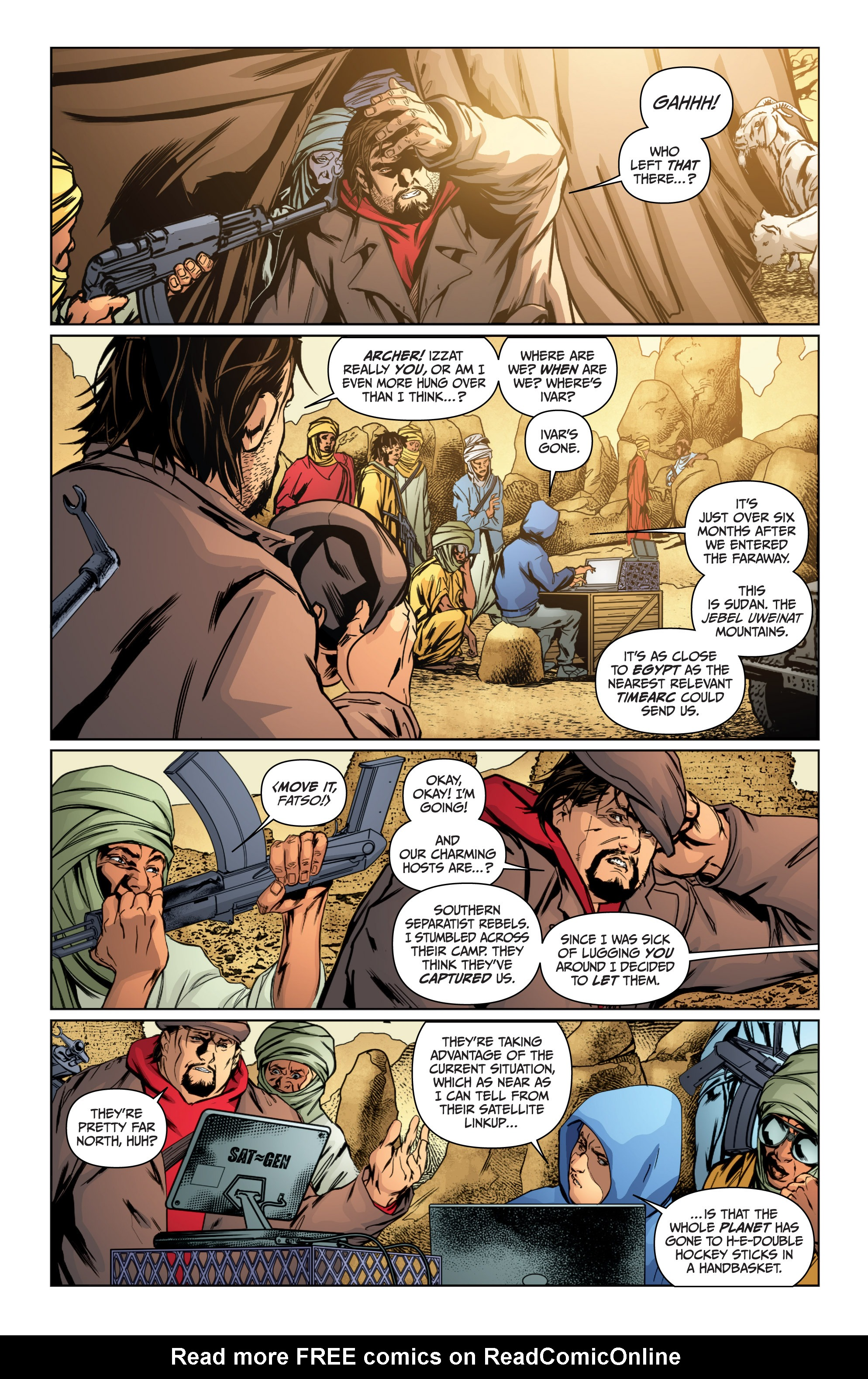 Read online Archer and Armstrong comic -  Issue #Archer and Armstrong _TPB 4 - 63