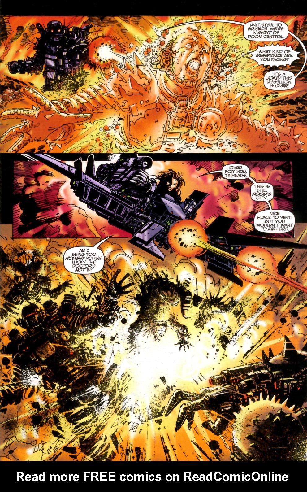 Read online Doom: The Emperor Returns comic -  Issue #2 - 16