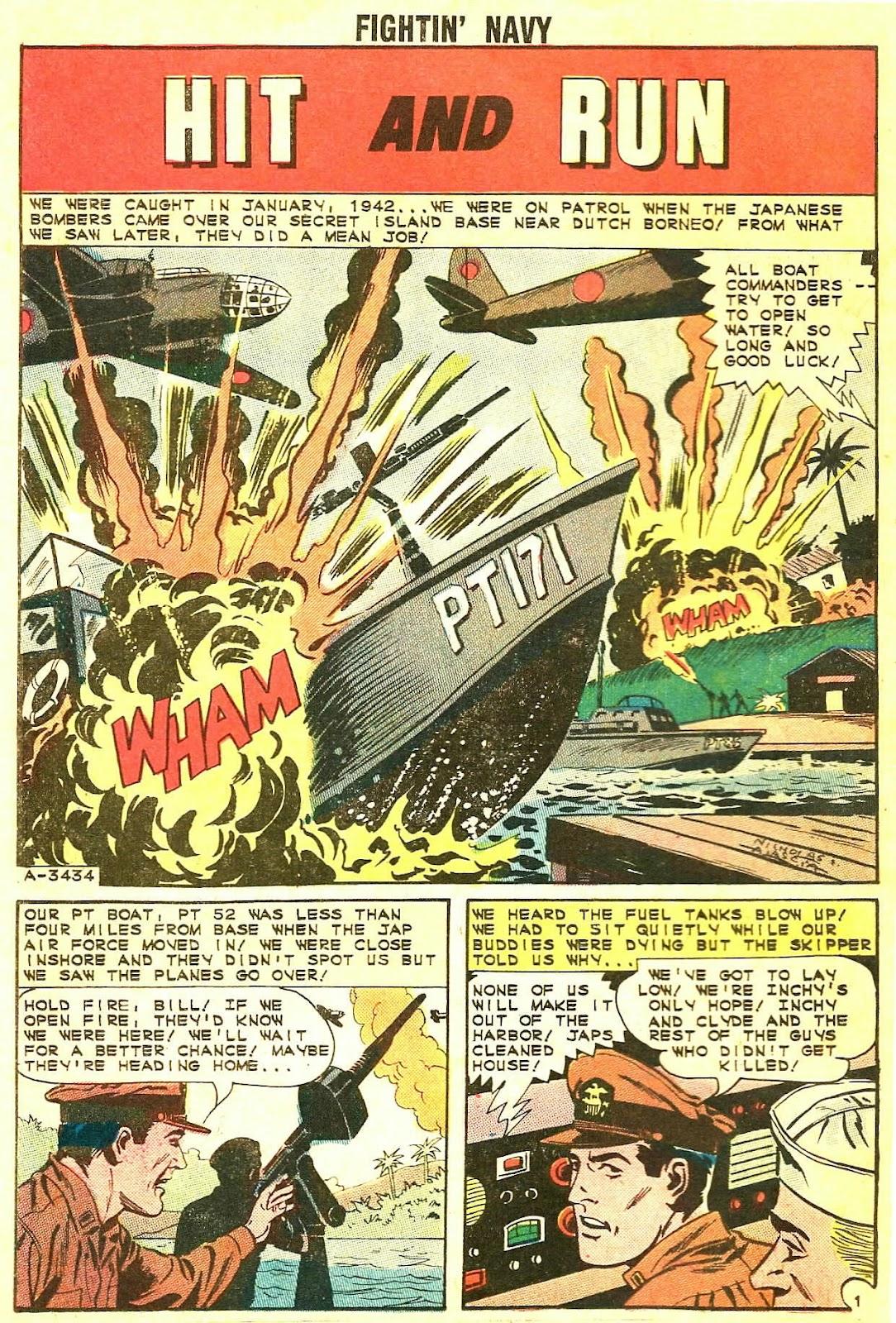 Read online Fightin' Navy comic -  Issue #115 - 26