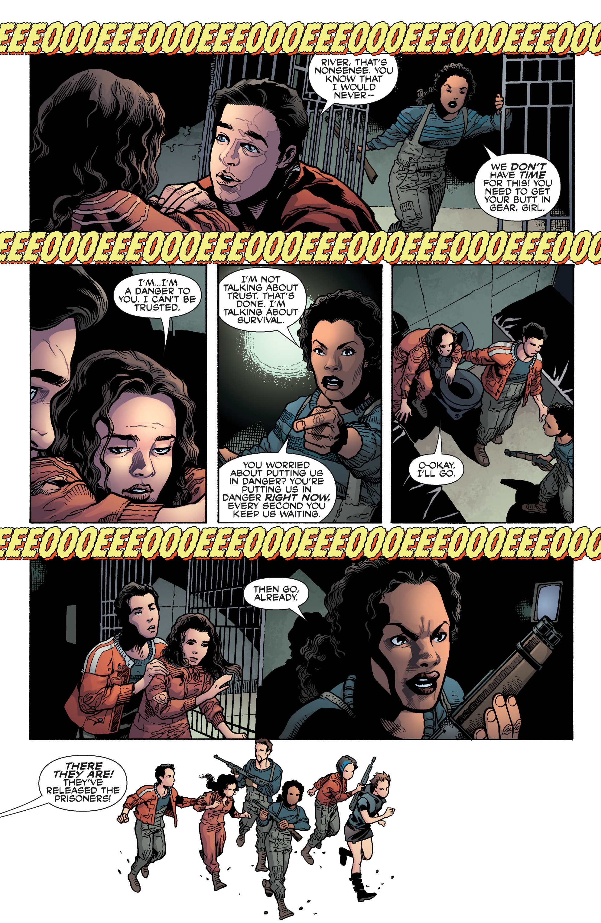 Read online Serenity: Firefly Class 03-K64 – No Power in the 'Verse comic -  Issue #6 - 7