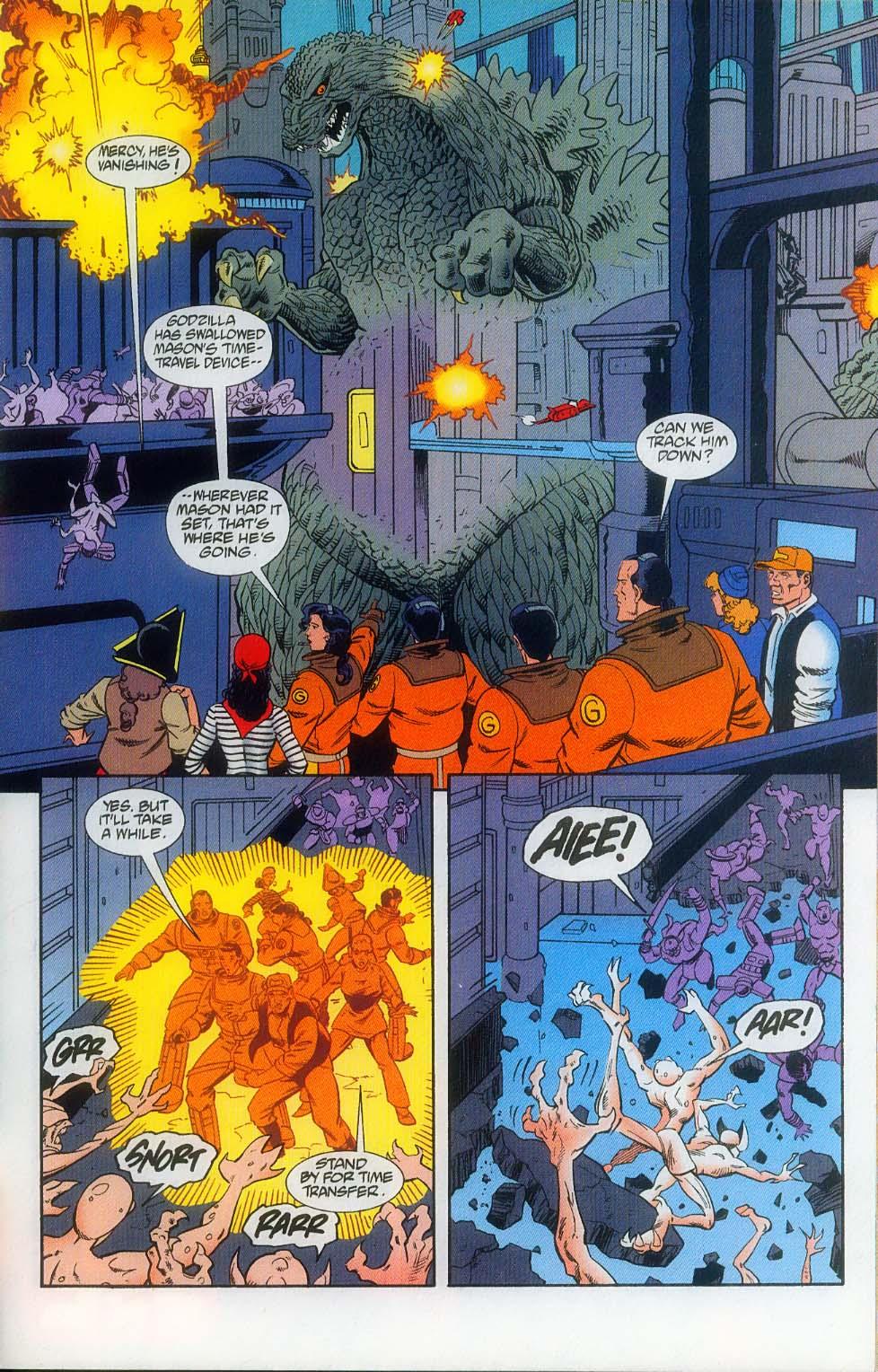 Godzilla (1995) Issue #12 #13 - English 25
