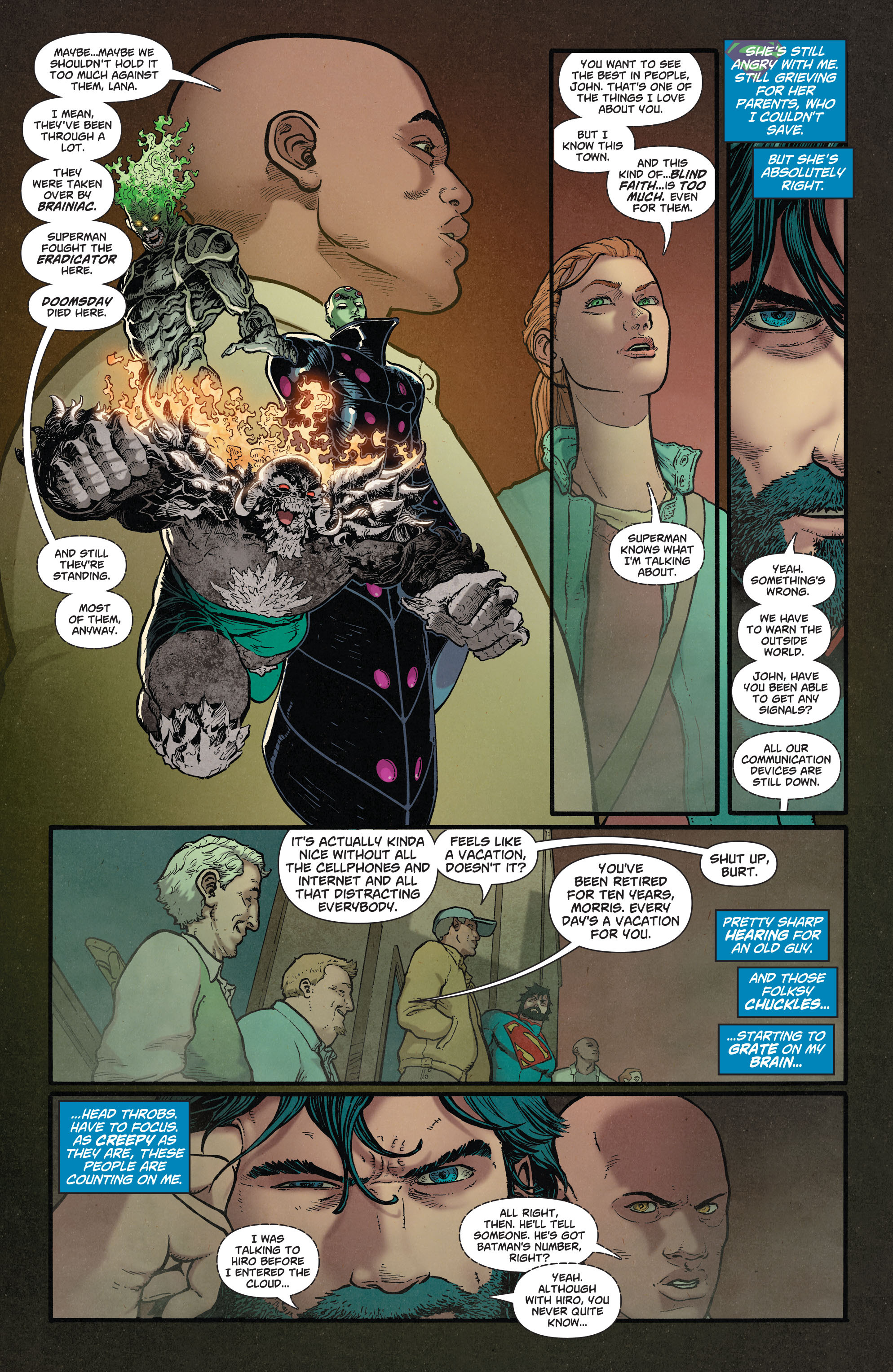 Read online Action Comics (2011) comic -  Issue #37 - 10