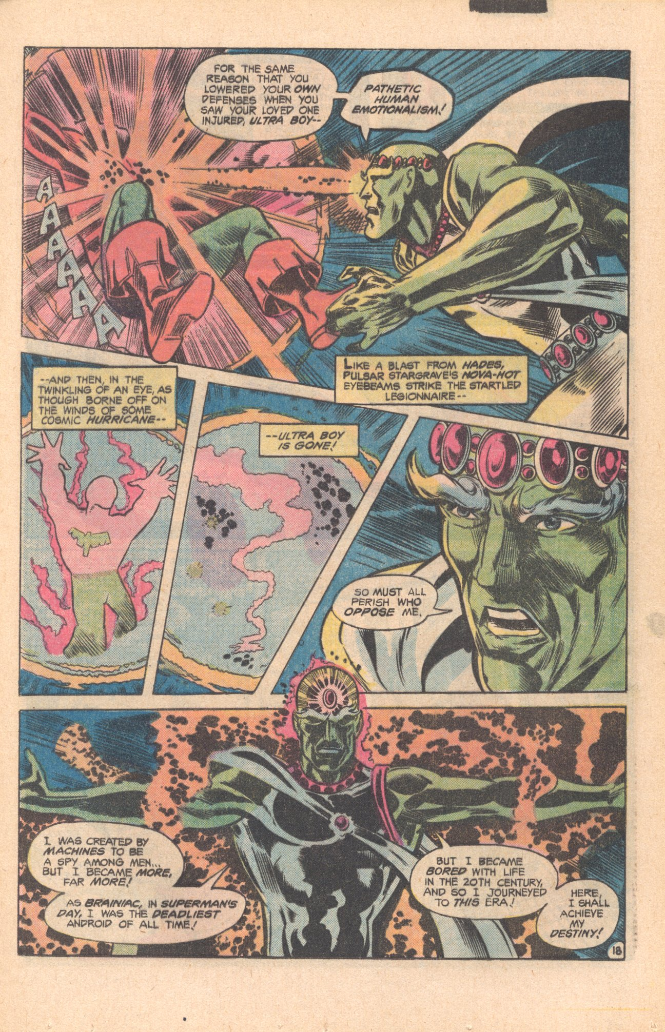 Legion of Super-Heroes (1980) 273 Page 18