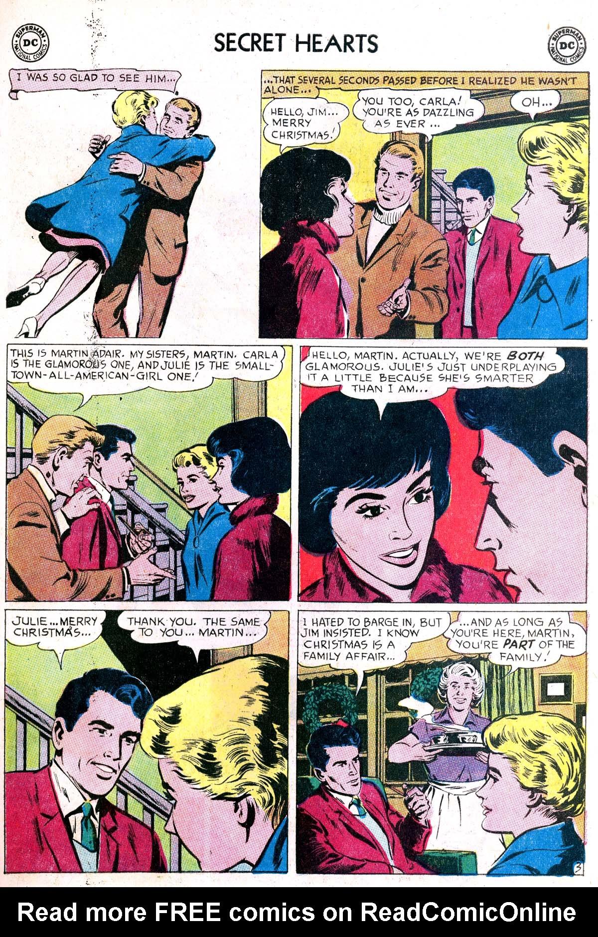 Read online Secret Hearts comic -  Issue #87 - 21