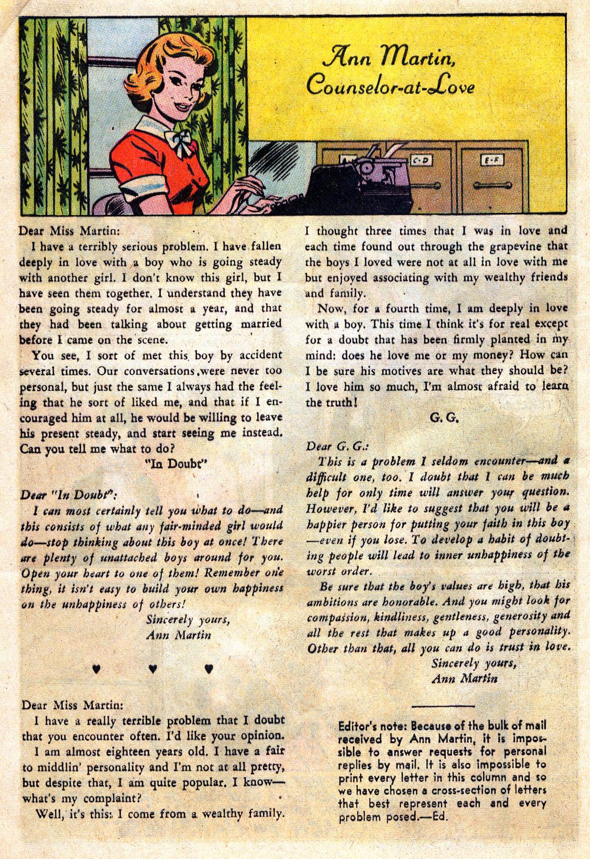 Read online Secret Hearts comic -  Issue #109 - 12