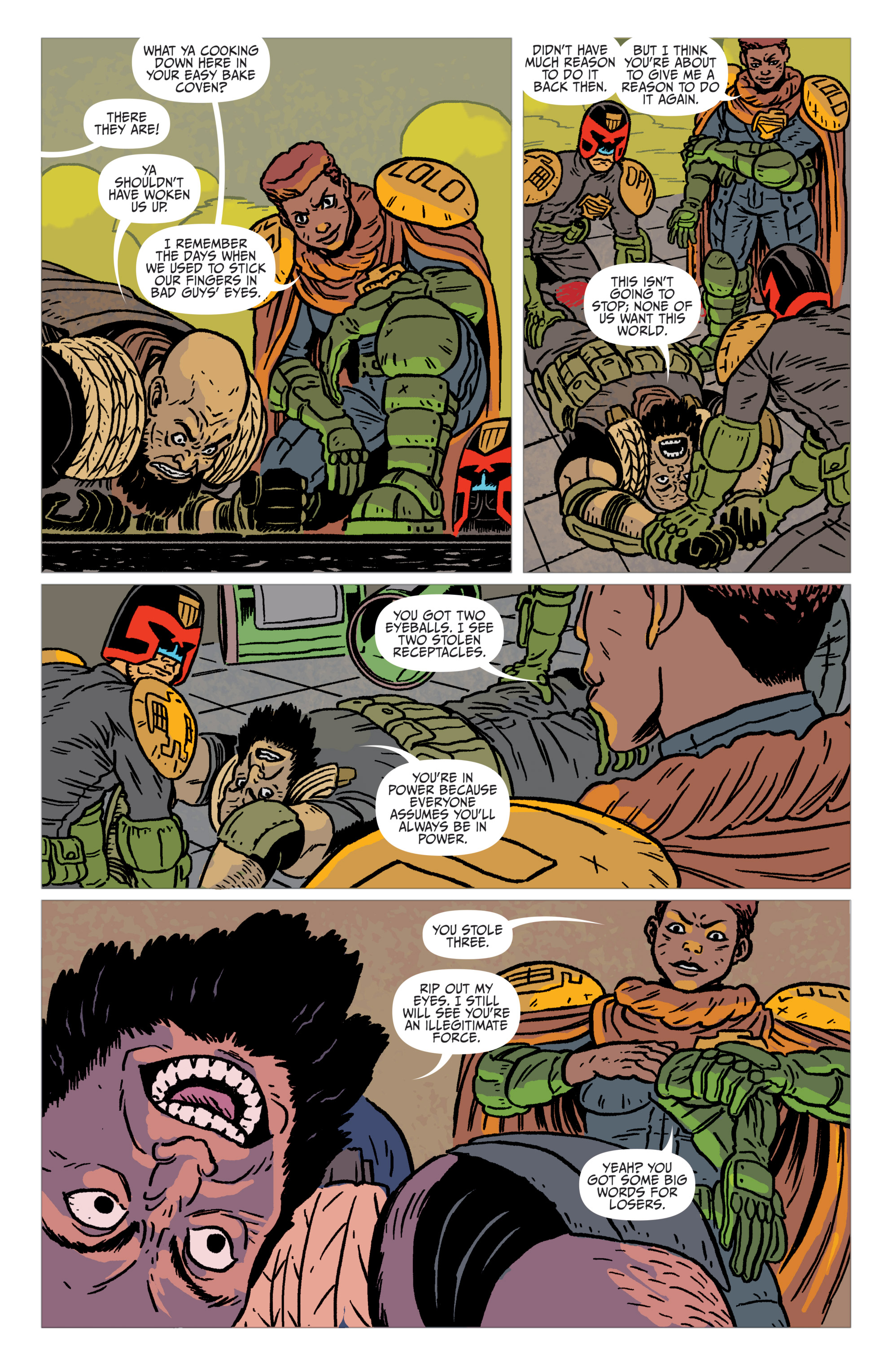 Read online Judge Dredd: The Blessed Earth comic -  Issue #2 - 14