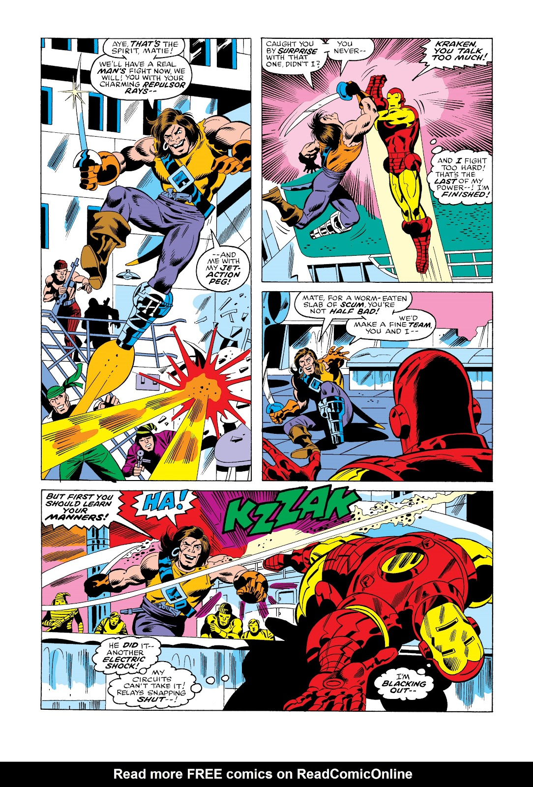 Read online Marvel Masterworks: The Invincible Iron Man comic -  Issue # TPB 11 (Part 3) - 59