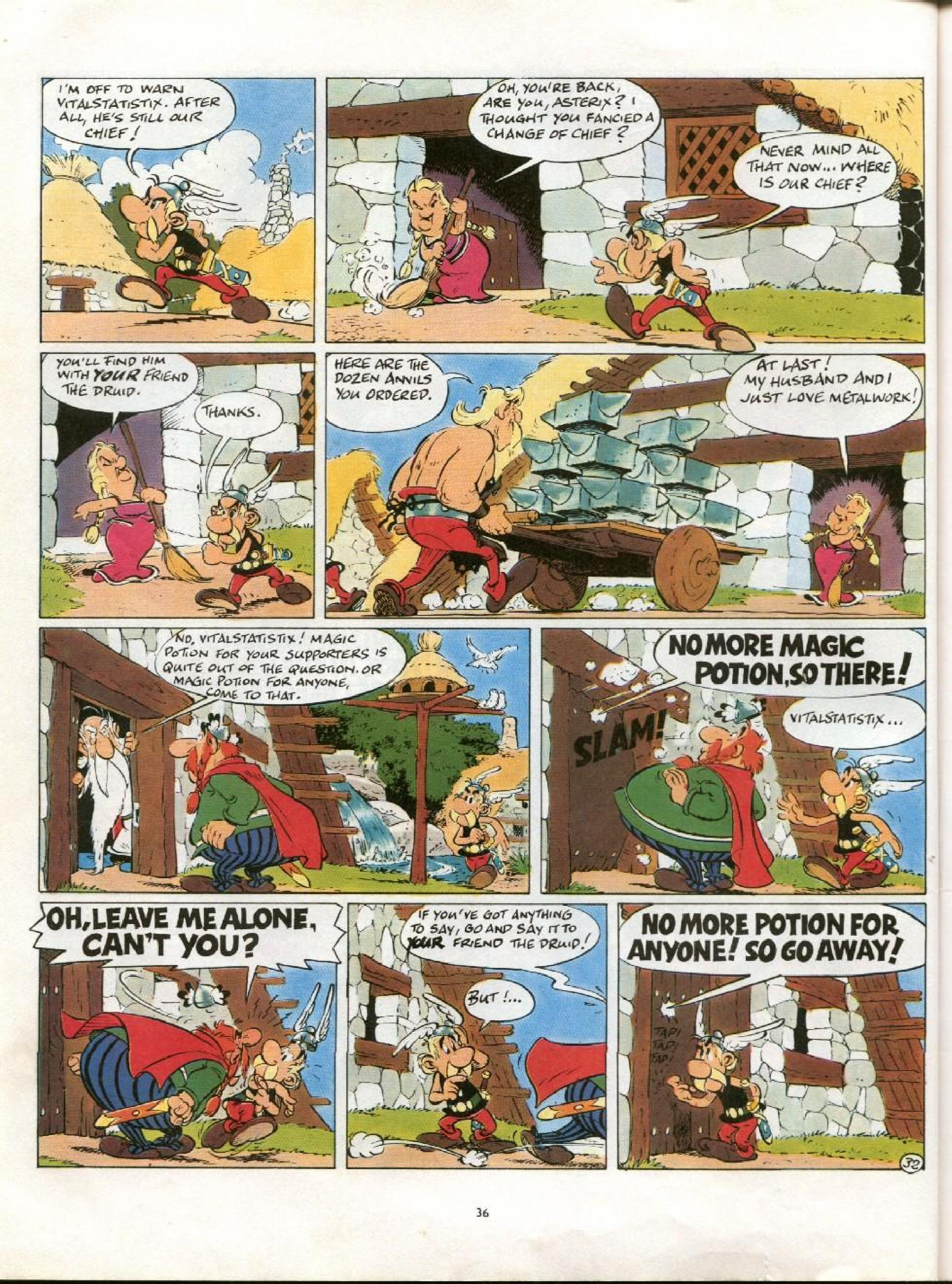 Read online Asterix comic -  Issue #21 - 33