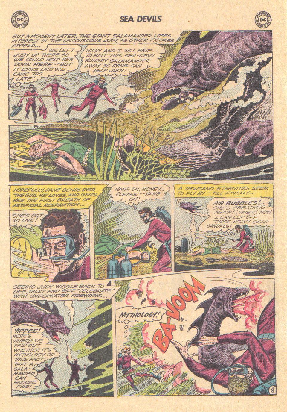 Read online Sea Devils comic -  Issue #16 - 26