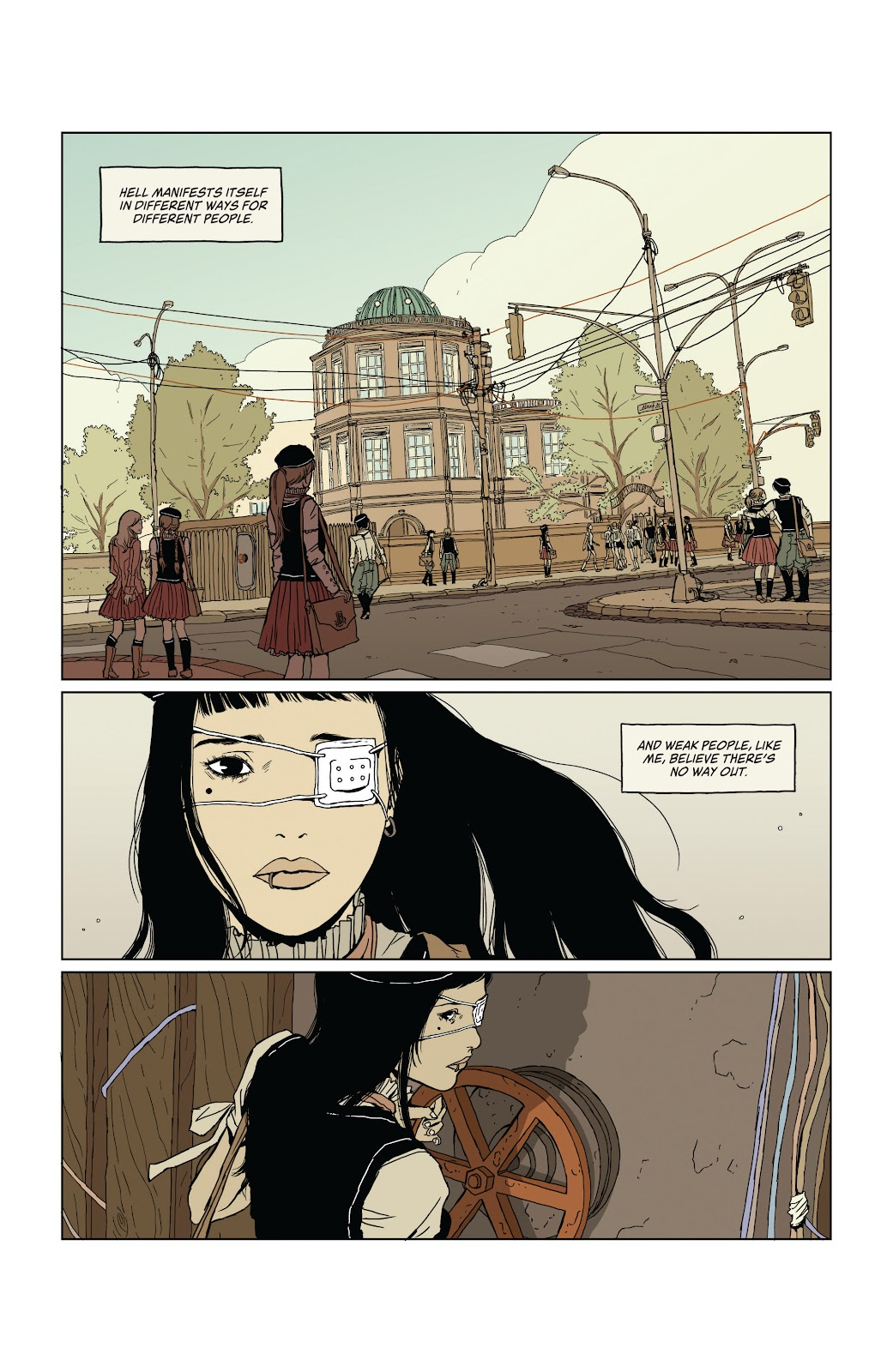 Read online Heartbeat comic -  Issue #1 - 6