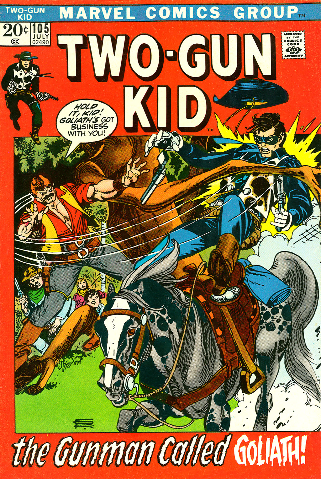 Read online Two-Gun Kid comic -  Issue #105 - 1