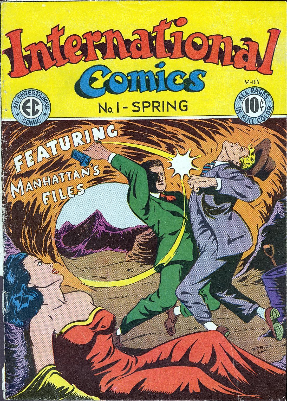International Comics 1 Page 1