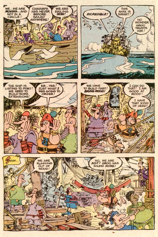 Read online Sergio Aragonés Groo the Wanderer comic -  Issue #57 - 18