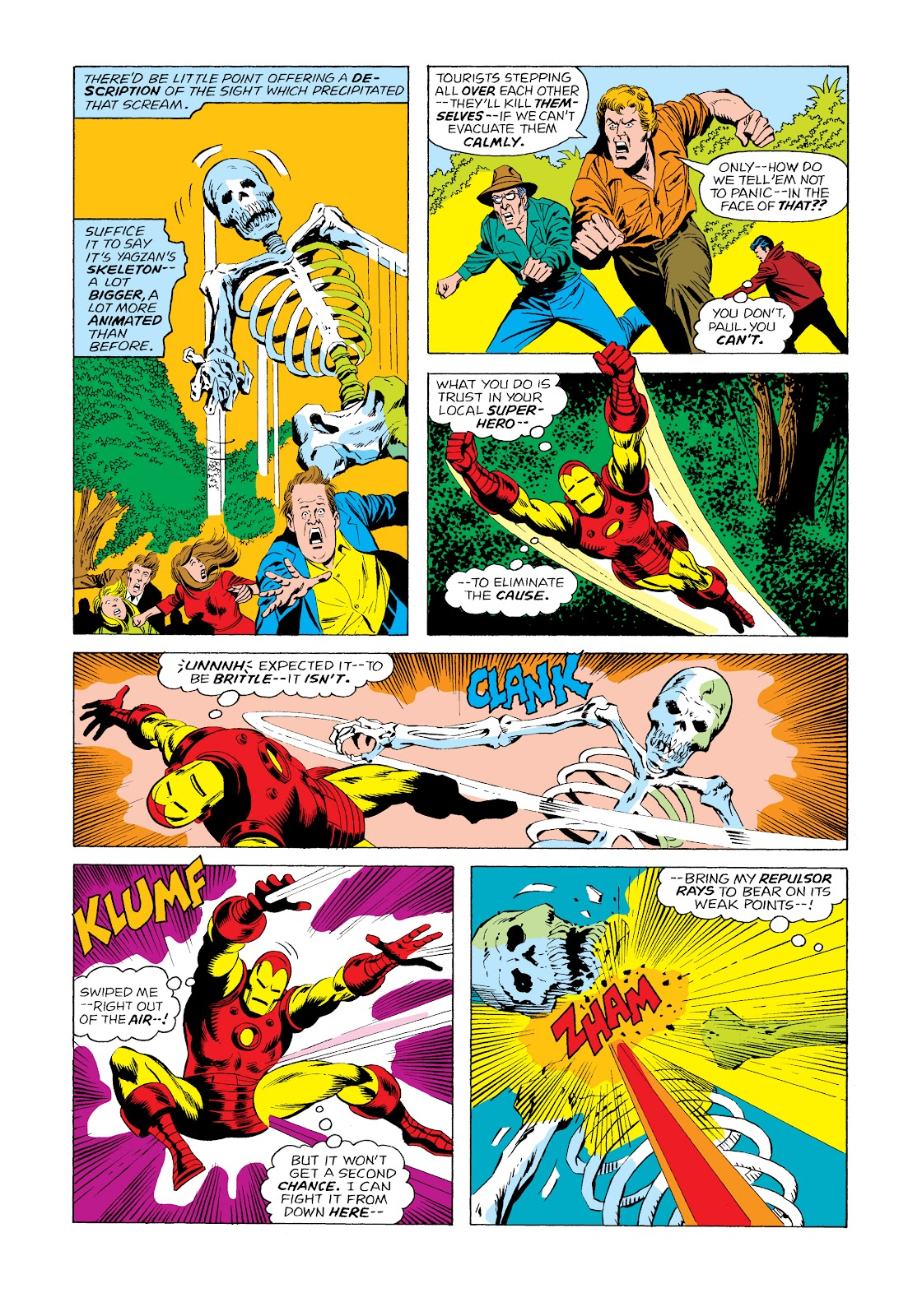 Read online Marvel Masterworks: The Invincible Iron Man comic -  Issue # TPB 11 (Part 2) - 48