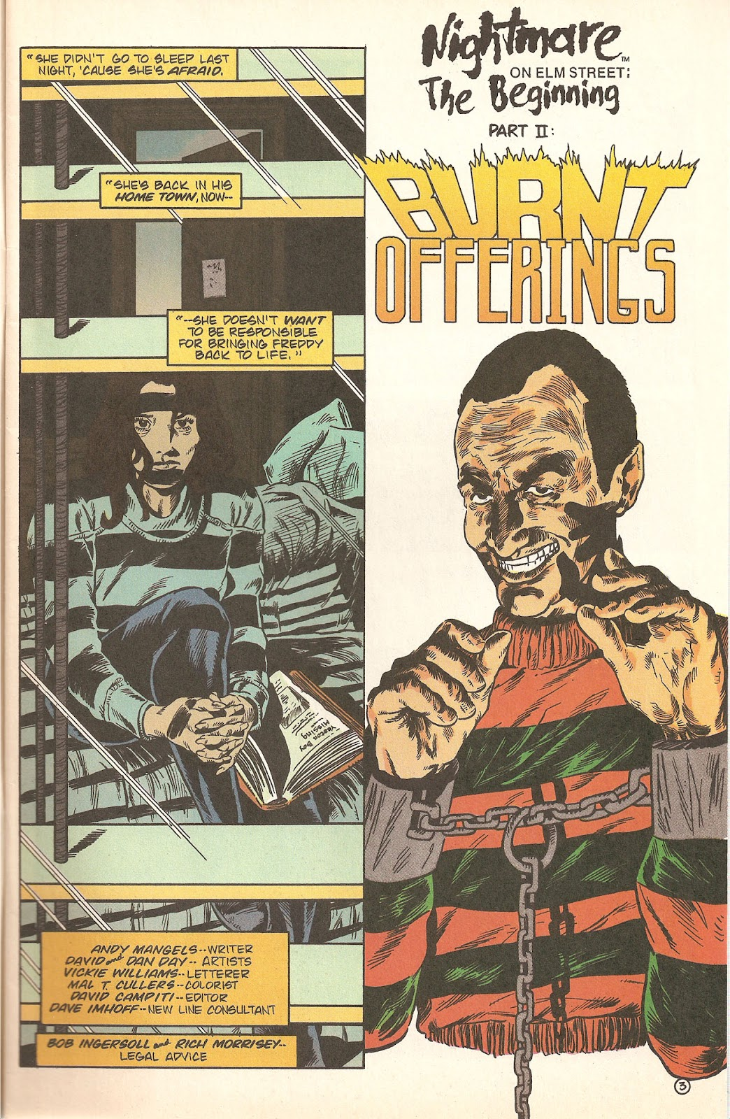 Read online A Nightmare on Elm Street: The Beginning comic -  Issue #2 - 5