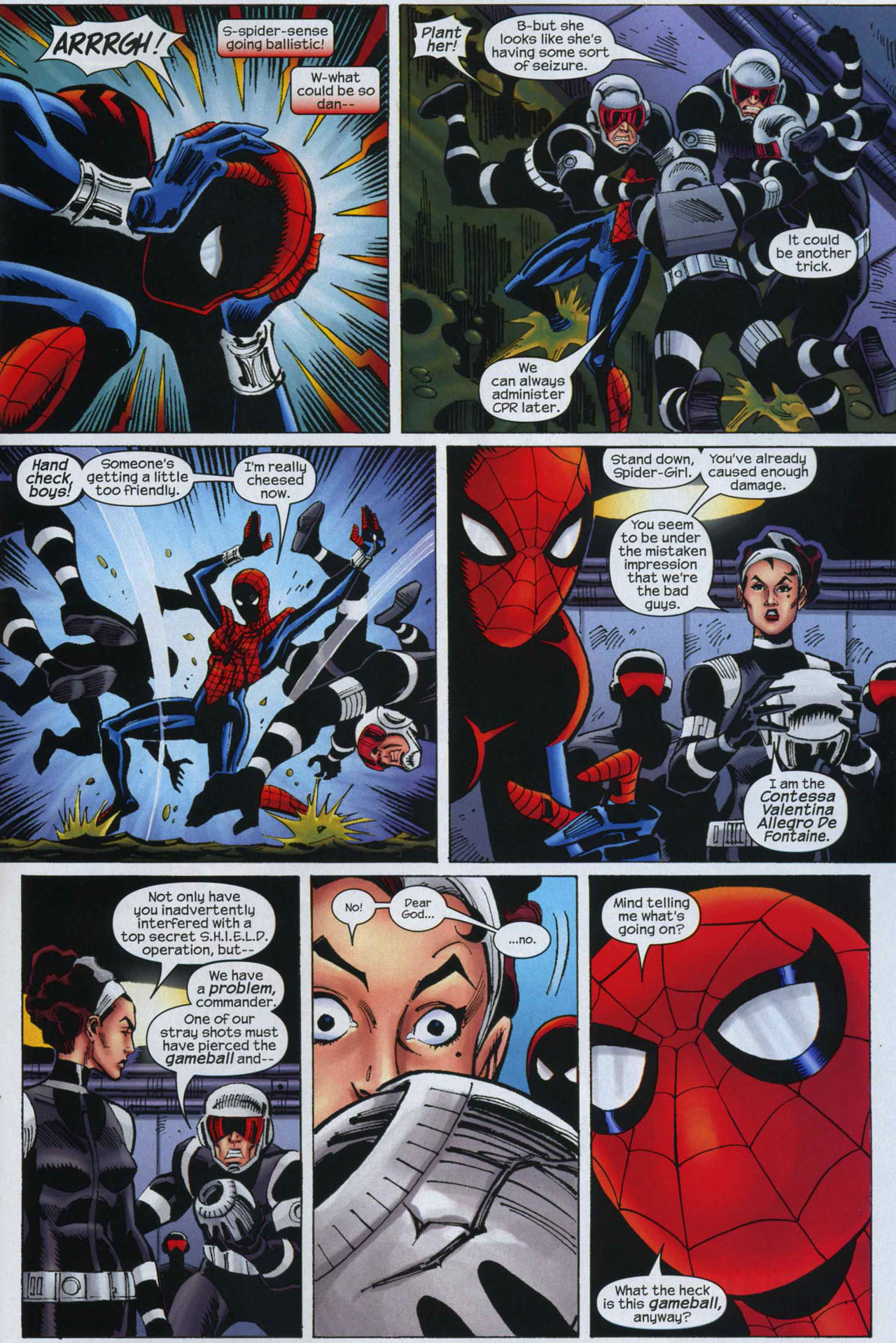 Read online Amazing Spider-Girl comic -  Issue #9 - 21
