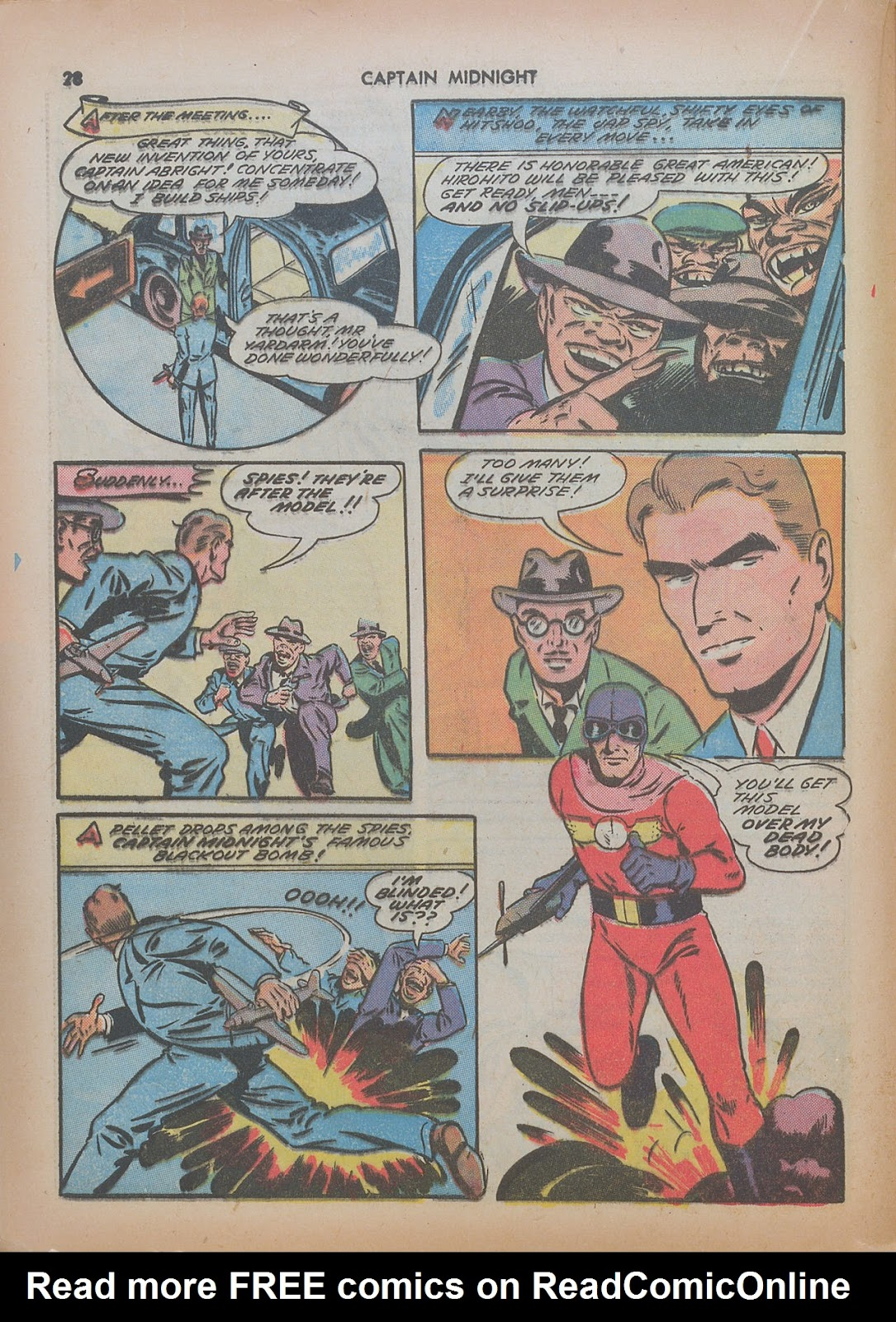 Captain Midnight (1942) issue 7 - Page 28