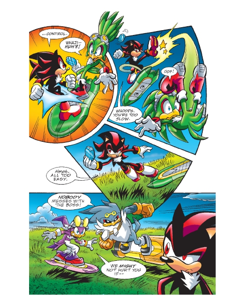 Read online Sonic Comics Spectacular: Speed of Sound comic -  Issue # Full - 199