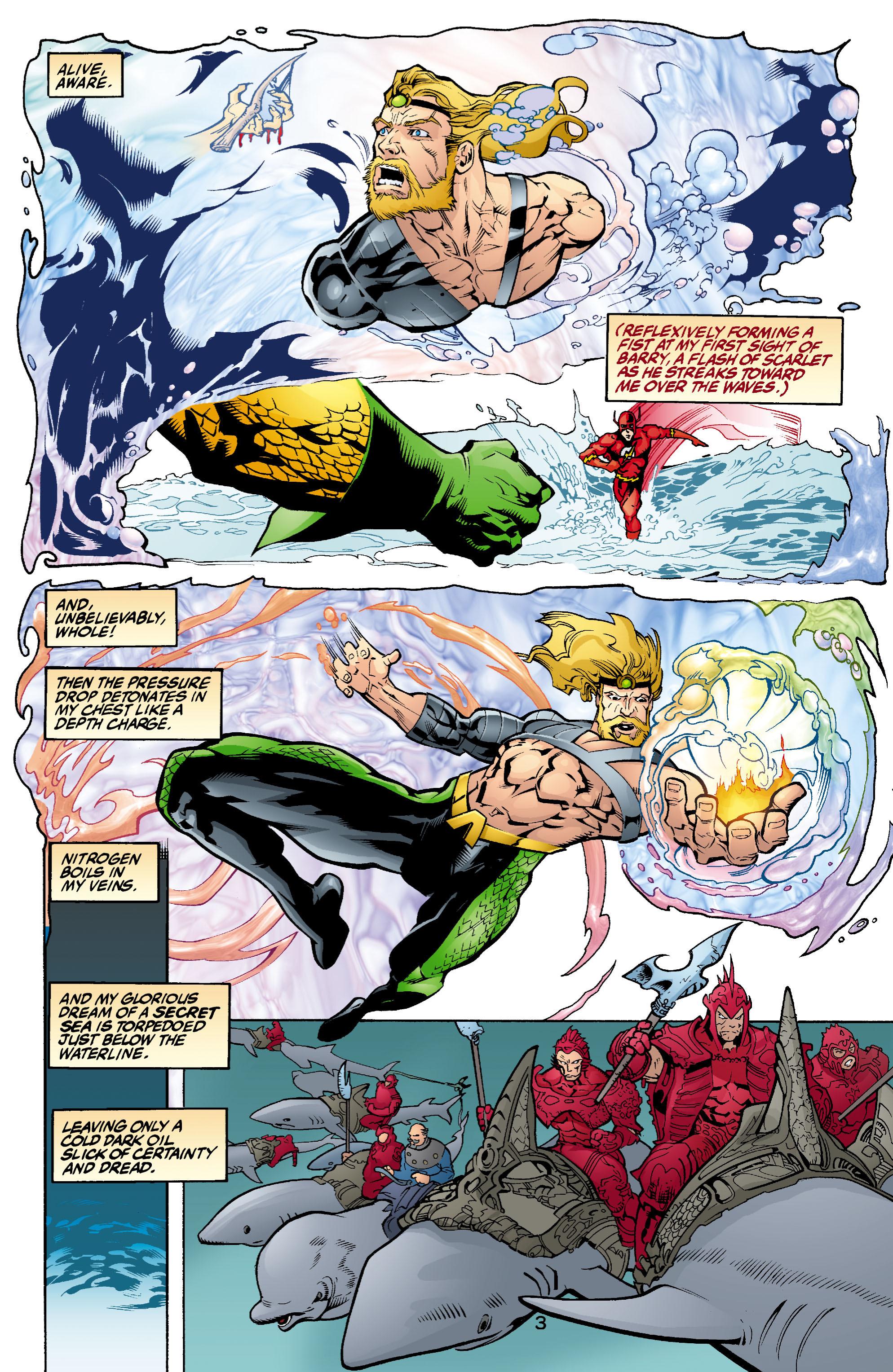 Read online Aquaman (2003) comic -  Issue #1 - 4