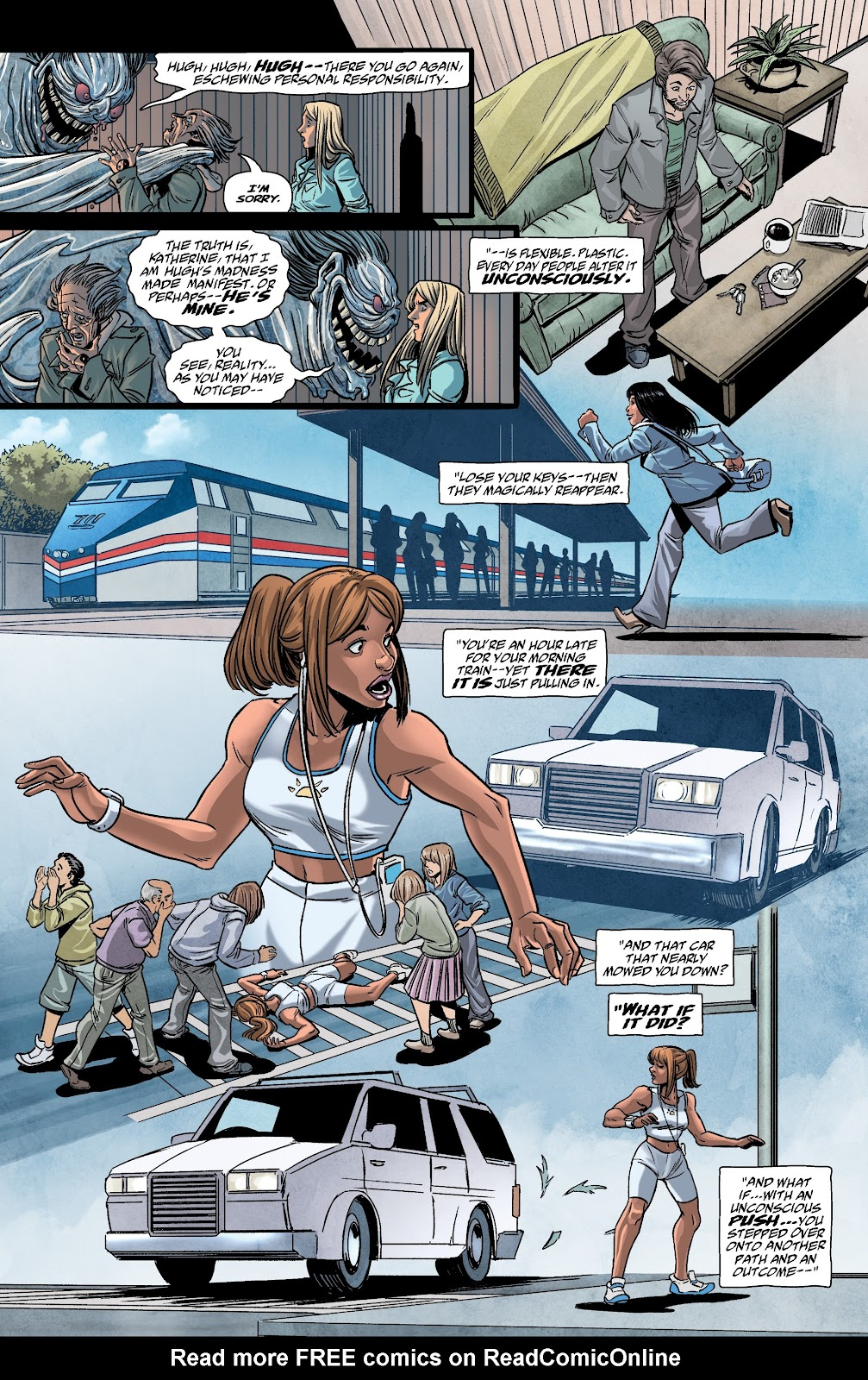 Read online The Girl In The Bay comic -  Issue #4 - 12