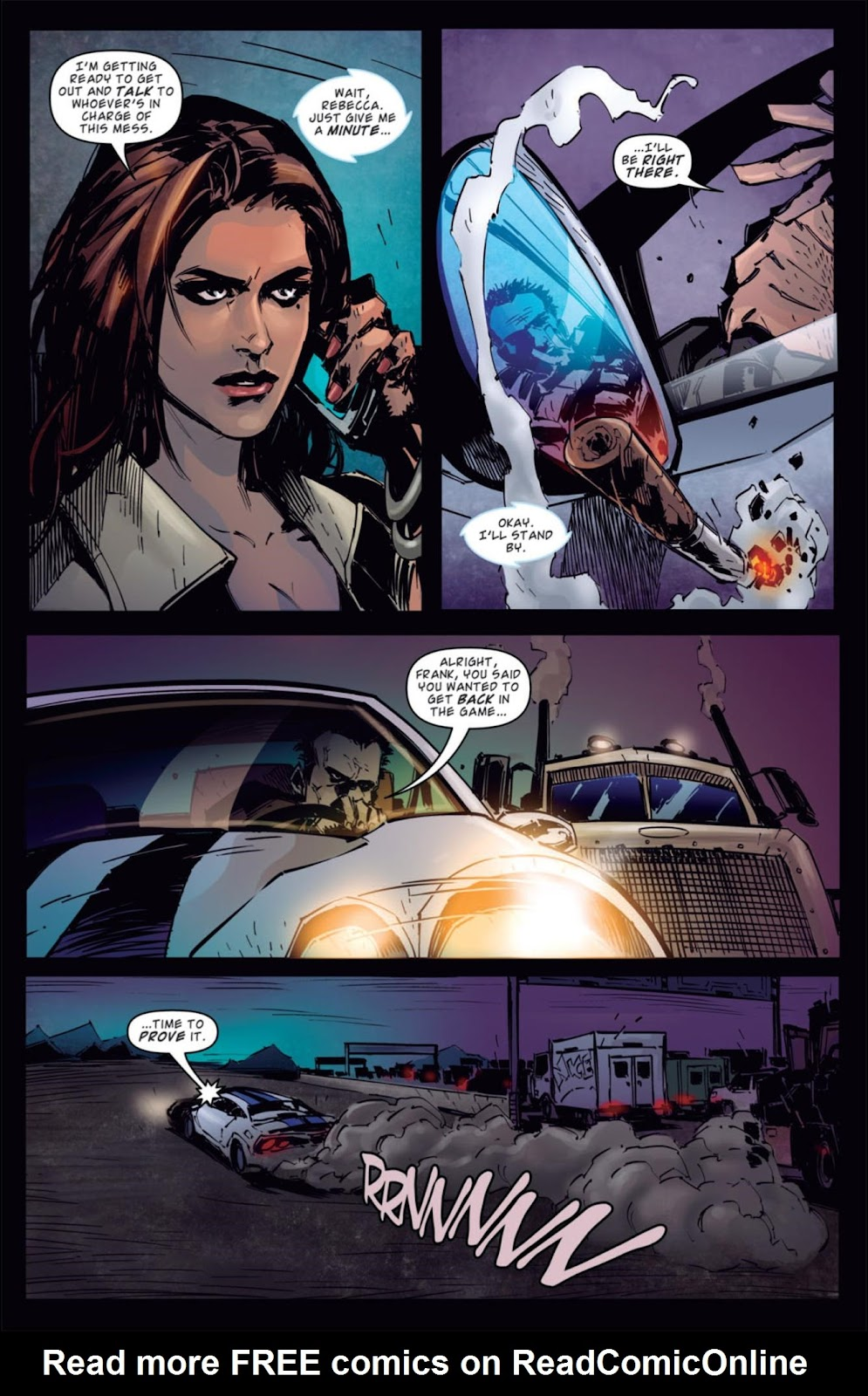 Read online Dead Rising: Road to Fortune comic -  Issue #4 - 7