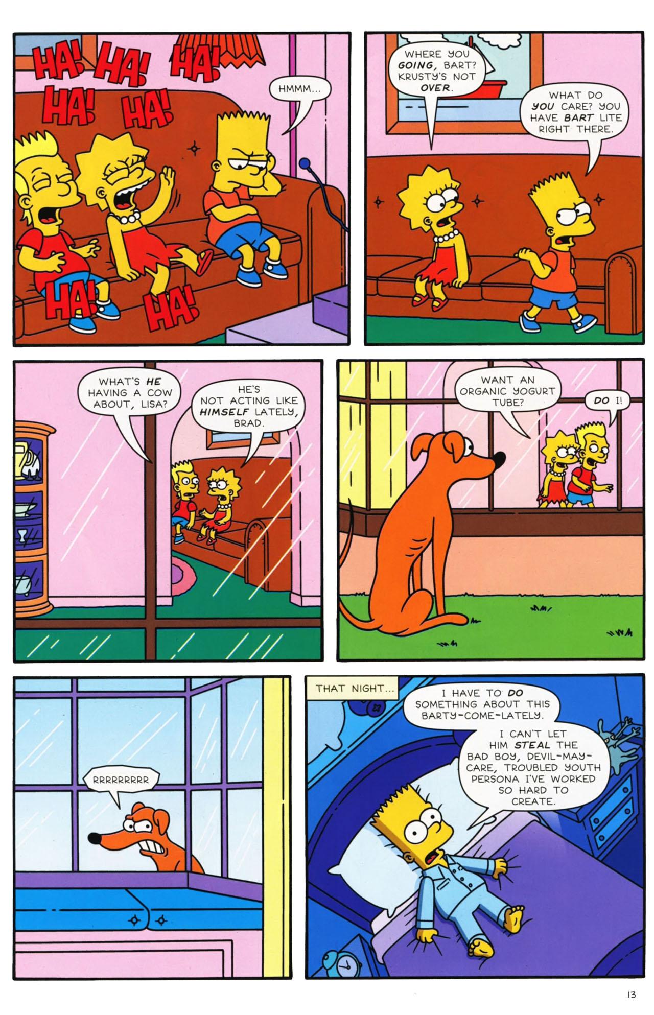 Read online Simpsons Comics comic -  Issue #169 - 12