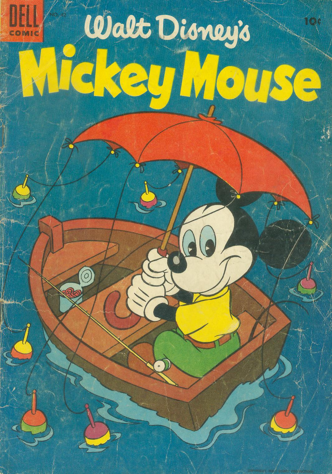 Walt Disney's Mickey Mouse issue 42 - Page 1