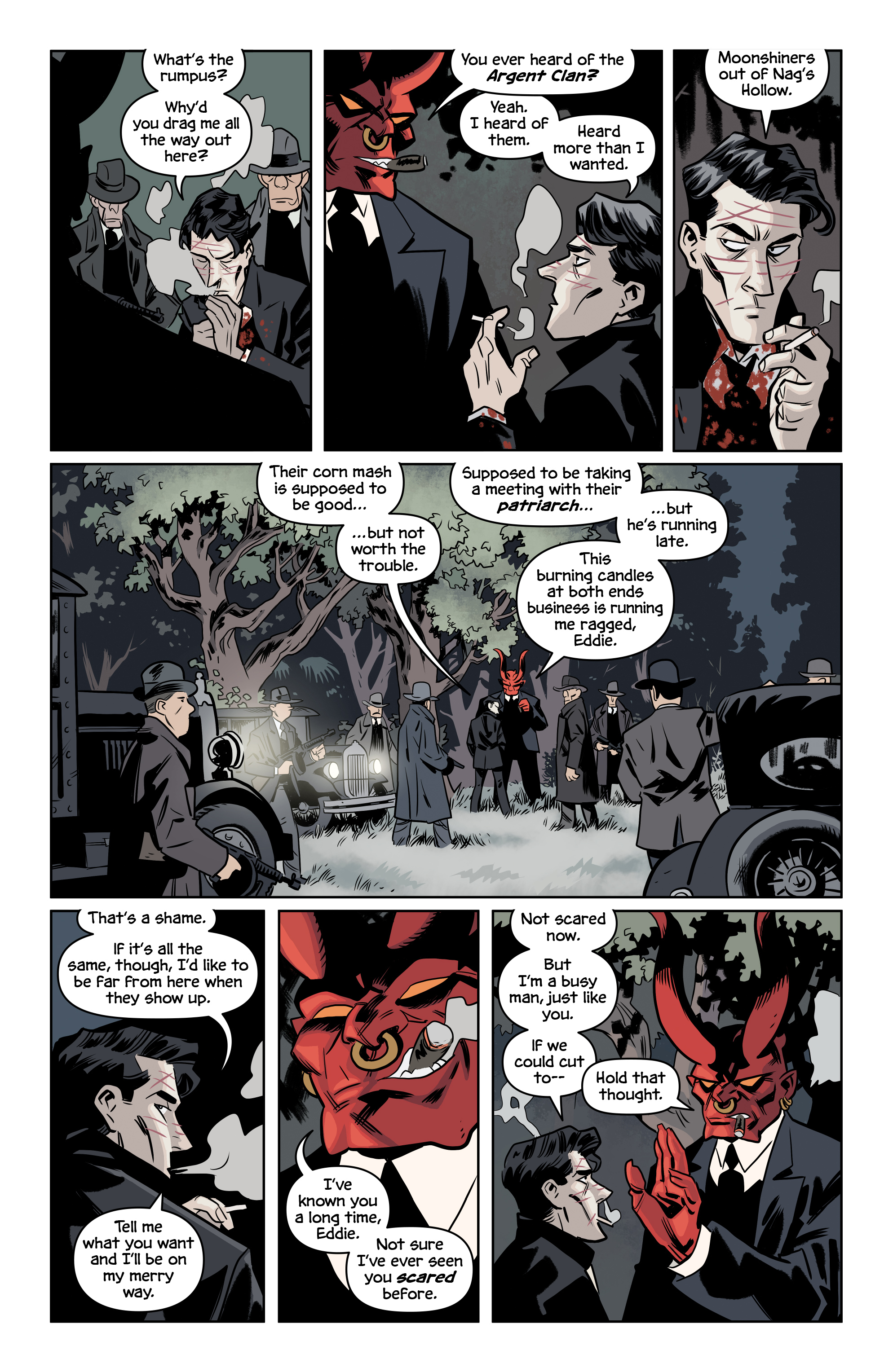 Read online The Damned comic -  Issue #2 - 9