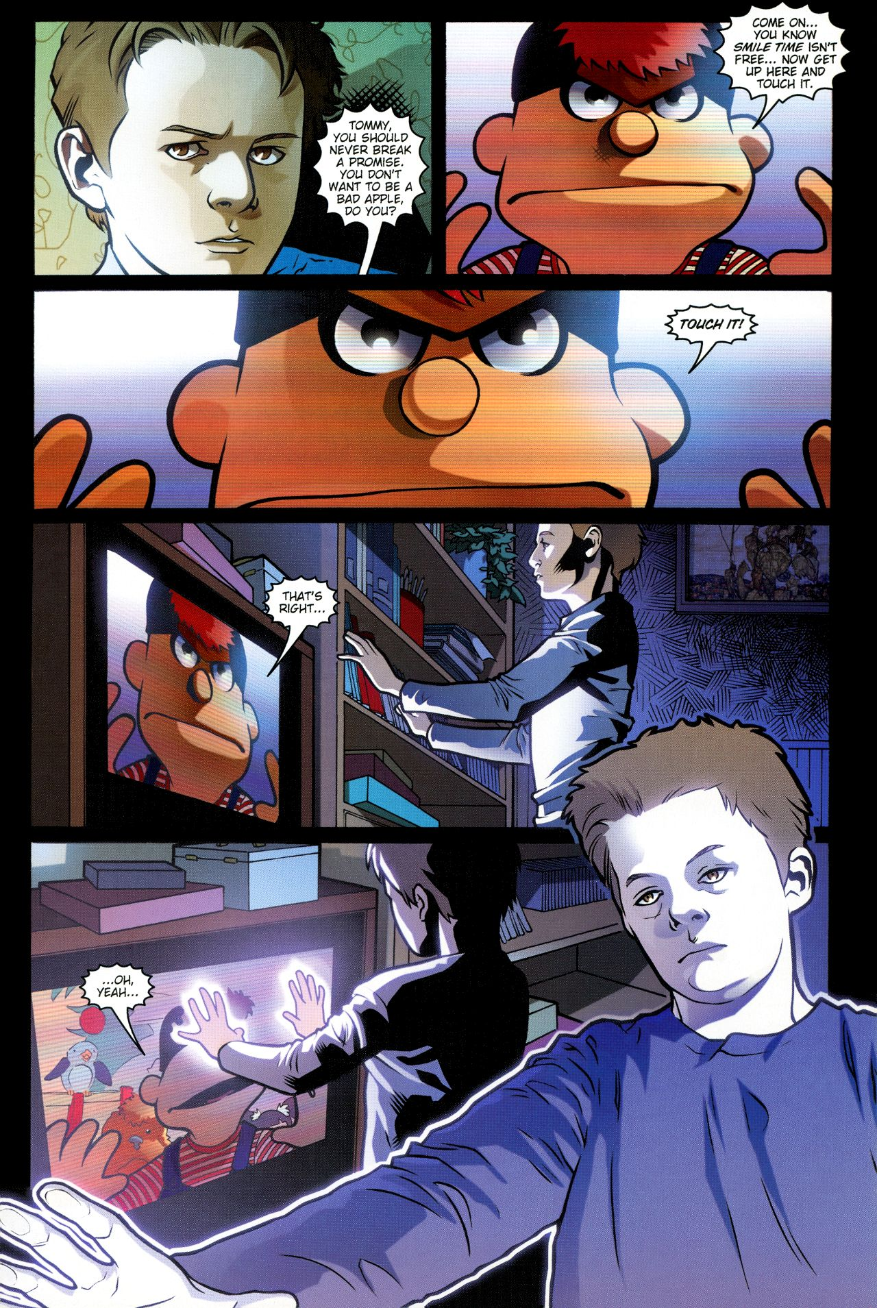 Read online Angel: Smile Time comic -  Issue #1 - 5