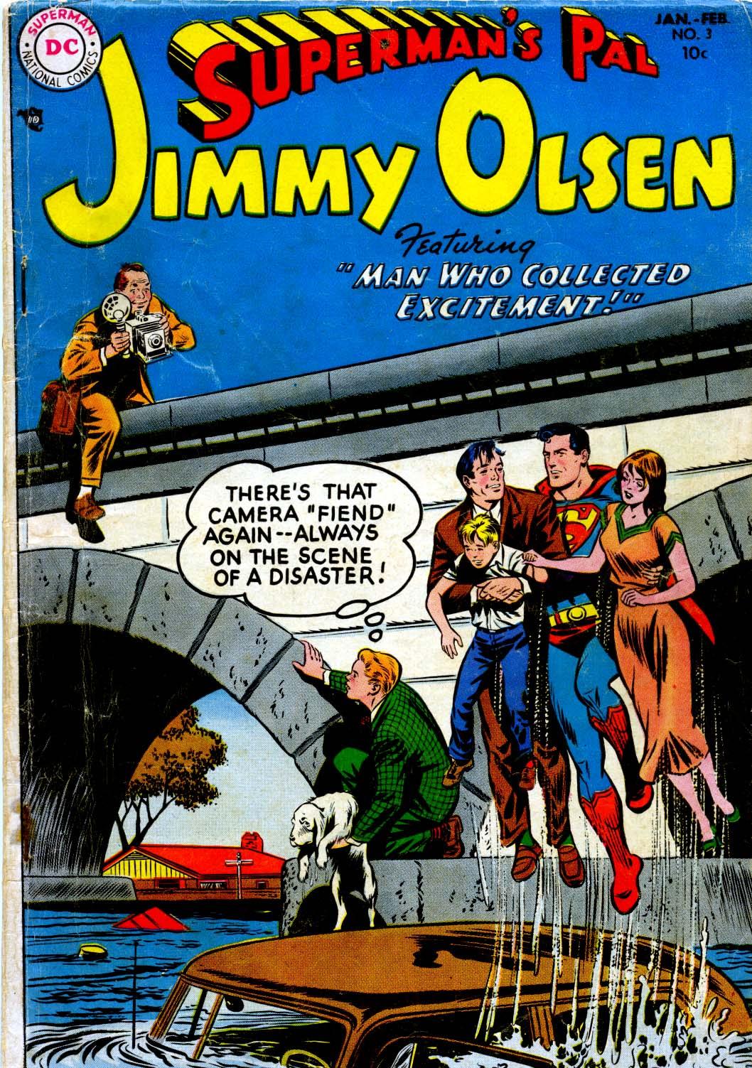 Supermans Pal Jimmy Olsen (1954) 3 Page 1