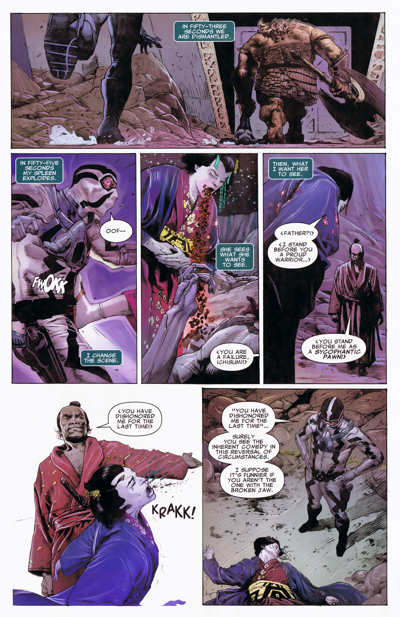 Read online Uncanny X-Force: The Apocalypse Solution comic -  Issue # Full - 62