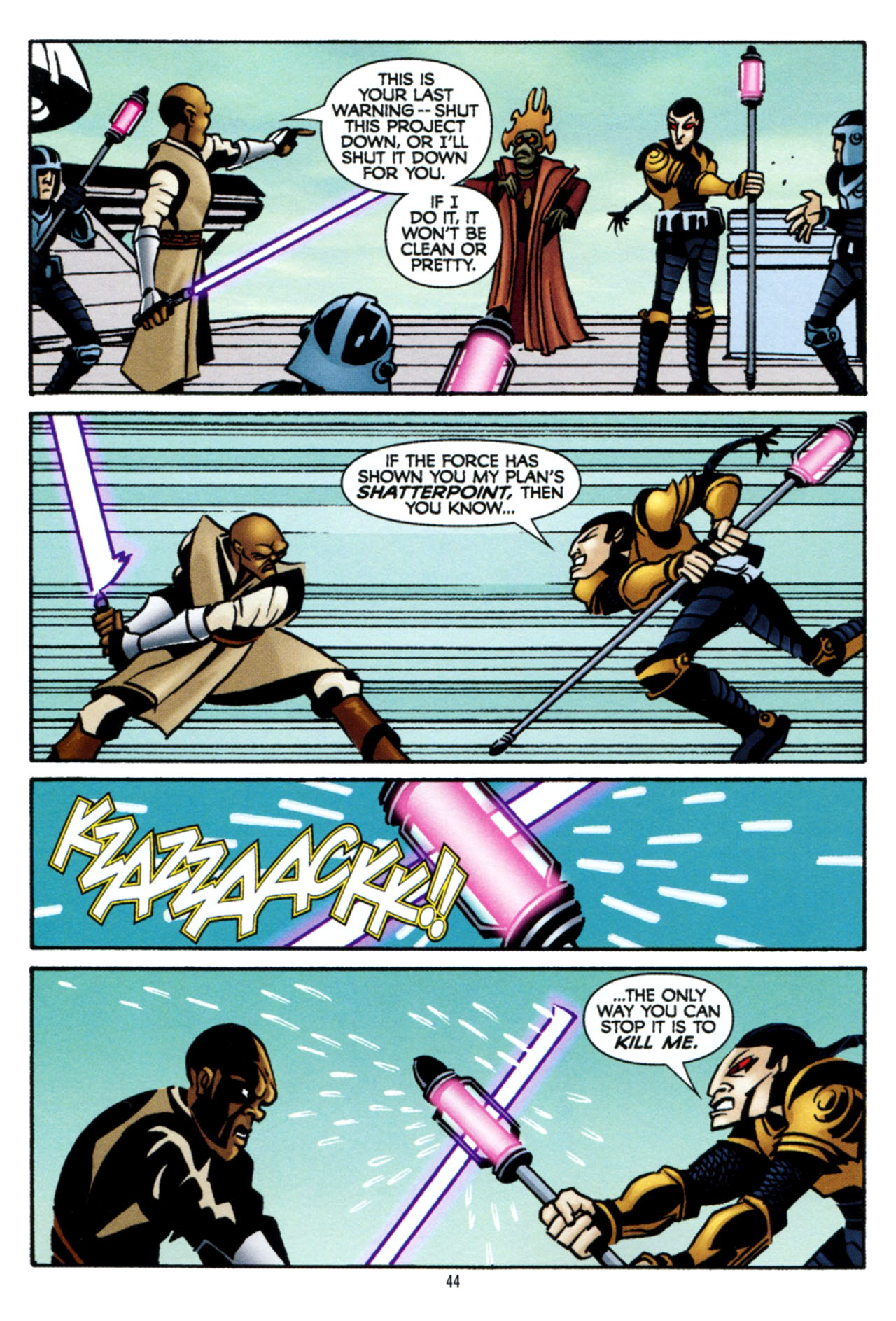 Read online Star Wars: The Clone Wars - The Colossus of Destiny comic -  Issue # Full - 44