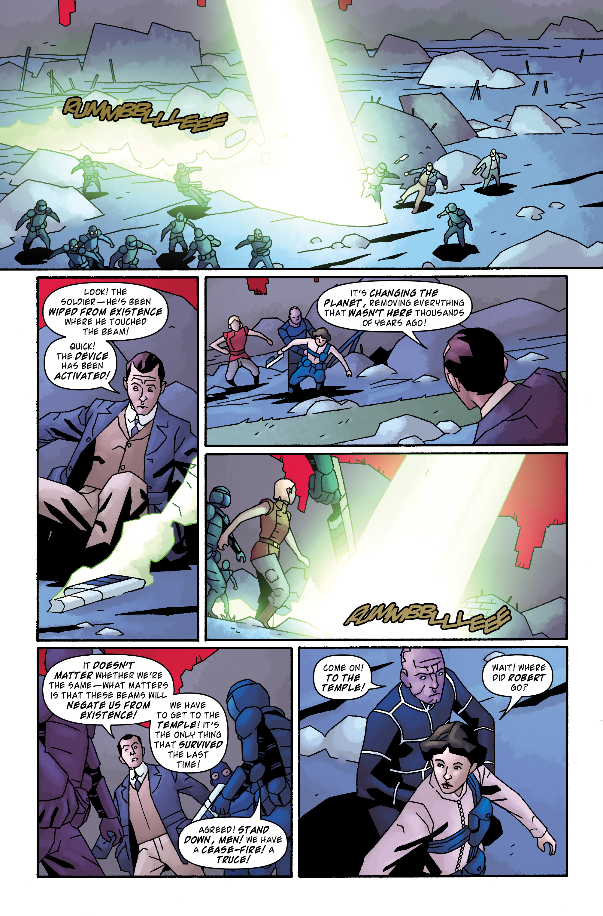 Read online Doctor Who: The Tenth Doctor Archives comic -  Issue #33 - 17