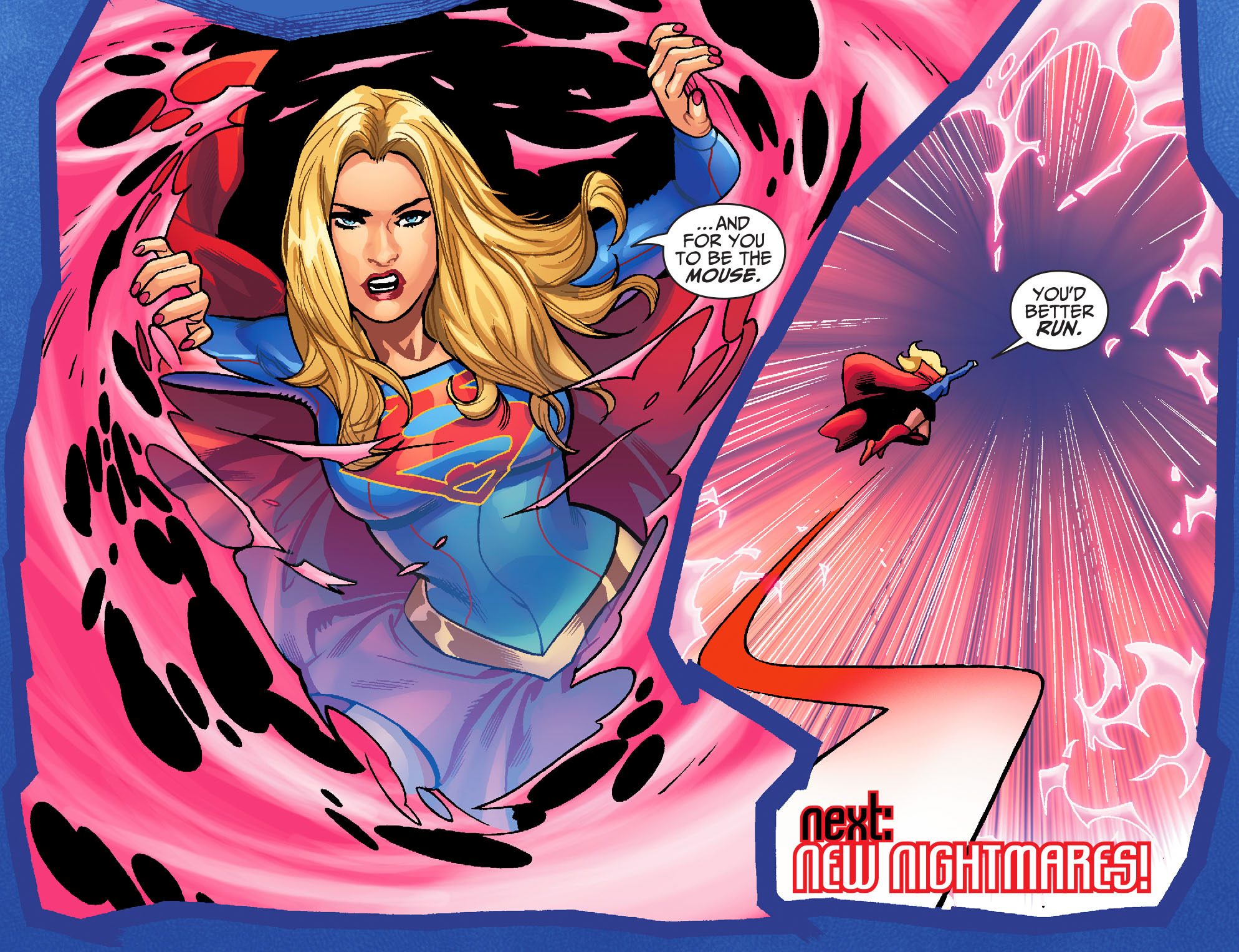 Read online Adventures of Supergirl comic -  Issue #6 - 22