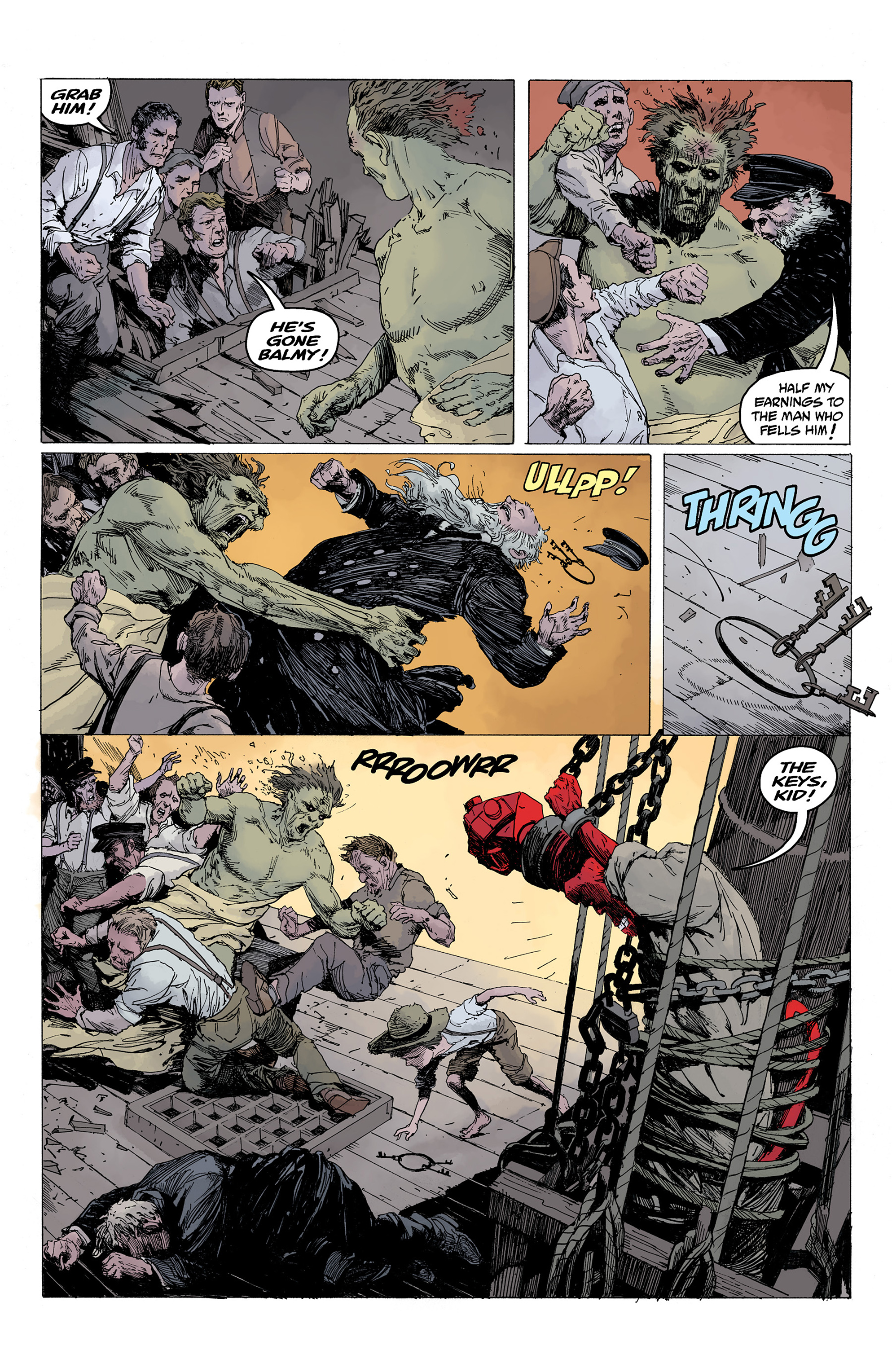 Read online Hellboy: Into the Silent Sea comic -  Issue # Full - 37