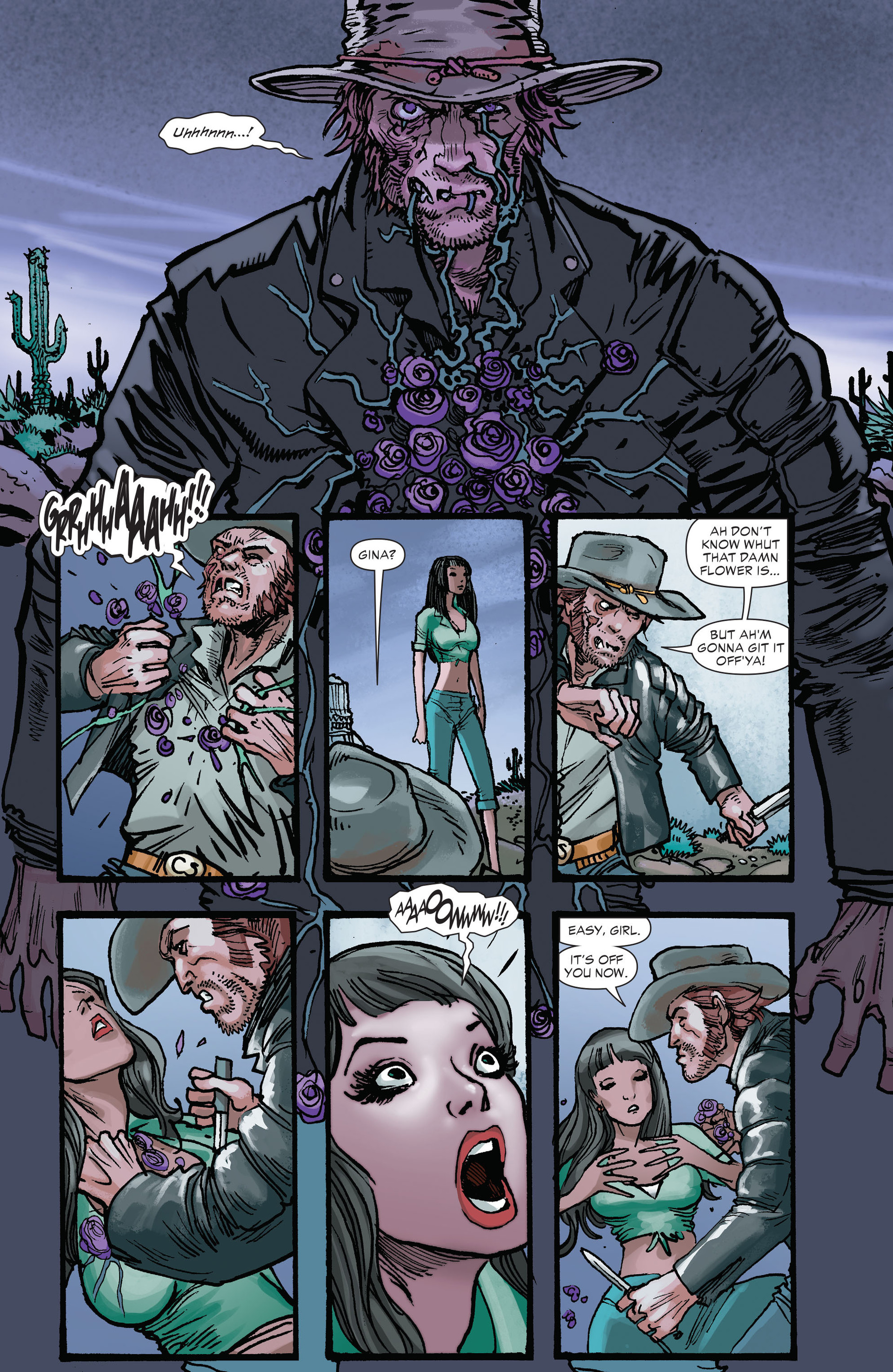 Read online All-Star Western (2011) comic -  Issue #26 - 14