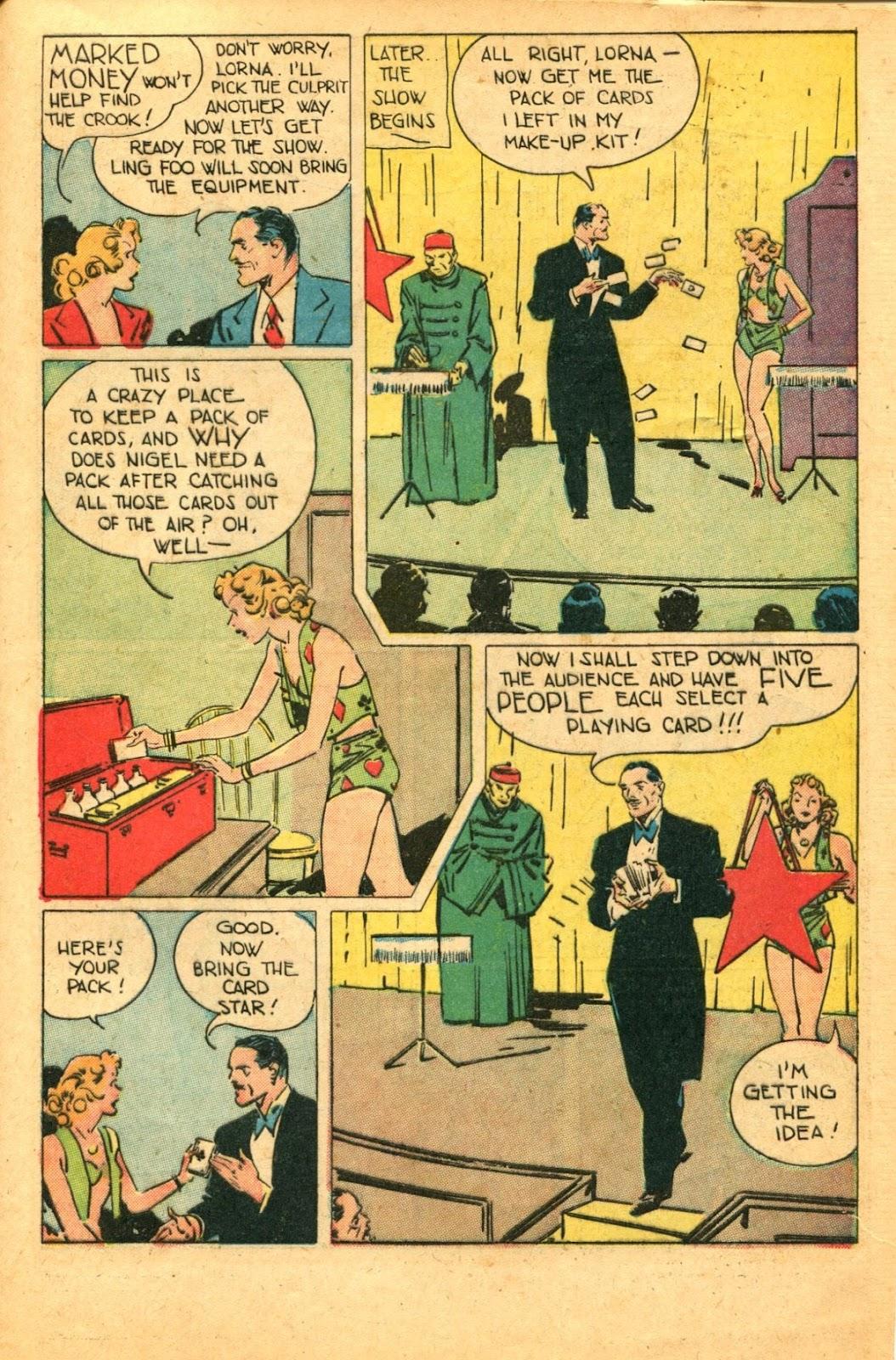 Read online Super-Magician Comics comic -  Issue #49 - 45
