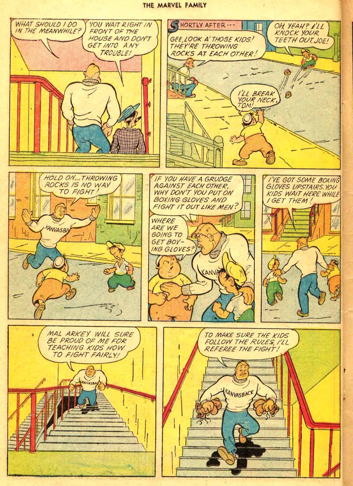 The Marvel Family issue 9 - Page 16