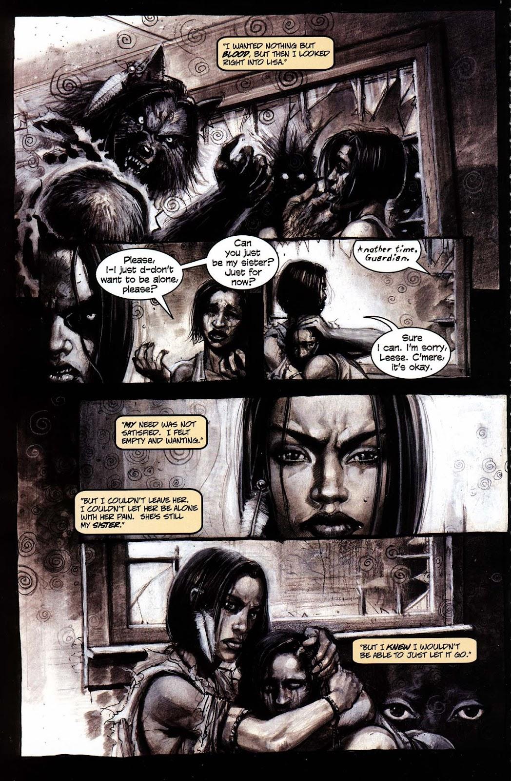 Read online Werewolf the Apocalypse comic -  Issue # Black Furies - 8