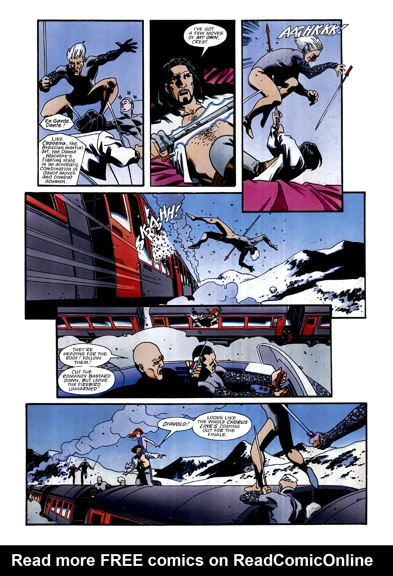 Read online Nikolai Dante comic -  Issue # TPB 3 - 31