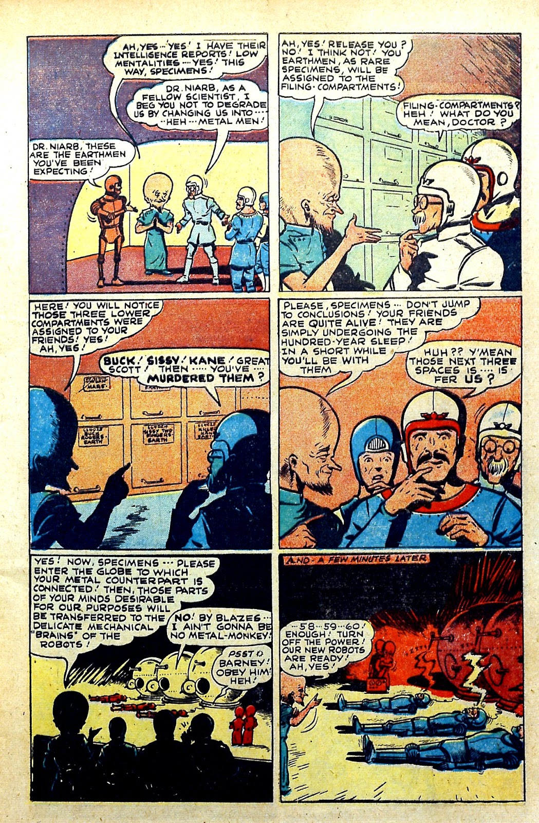 Read online Famous Funnies comic -  Issue #145 - 7