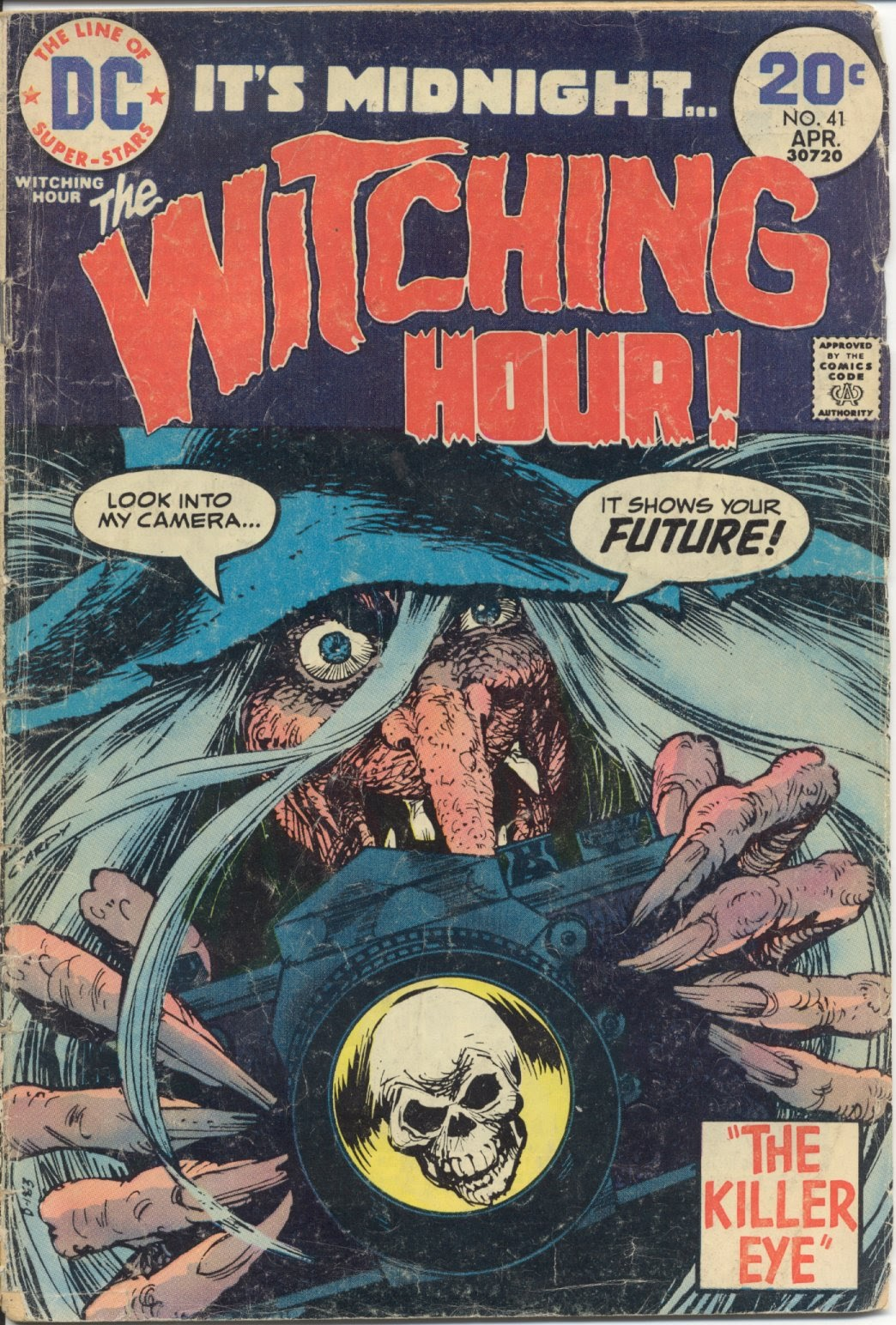 The Witching Hour (1969) issue 41 - Page 1