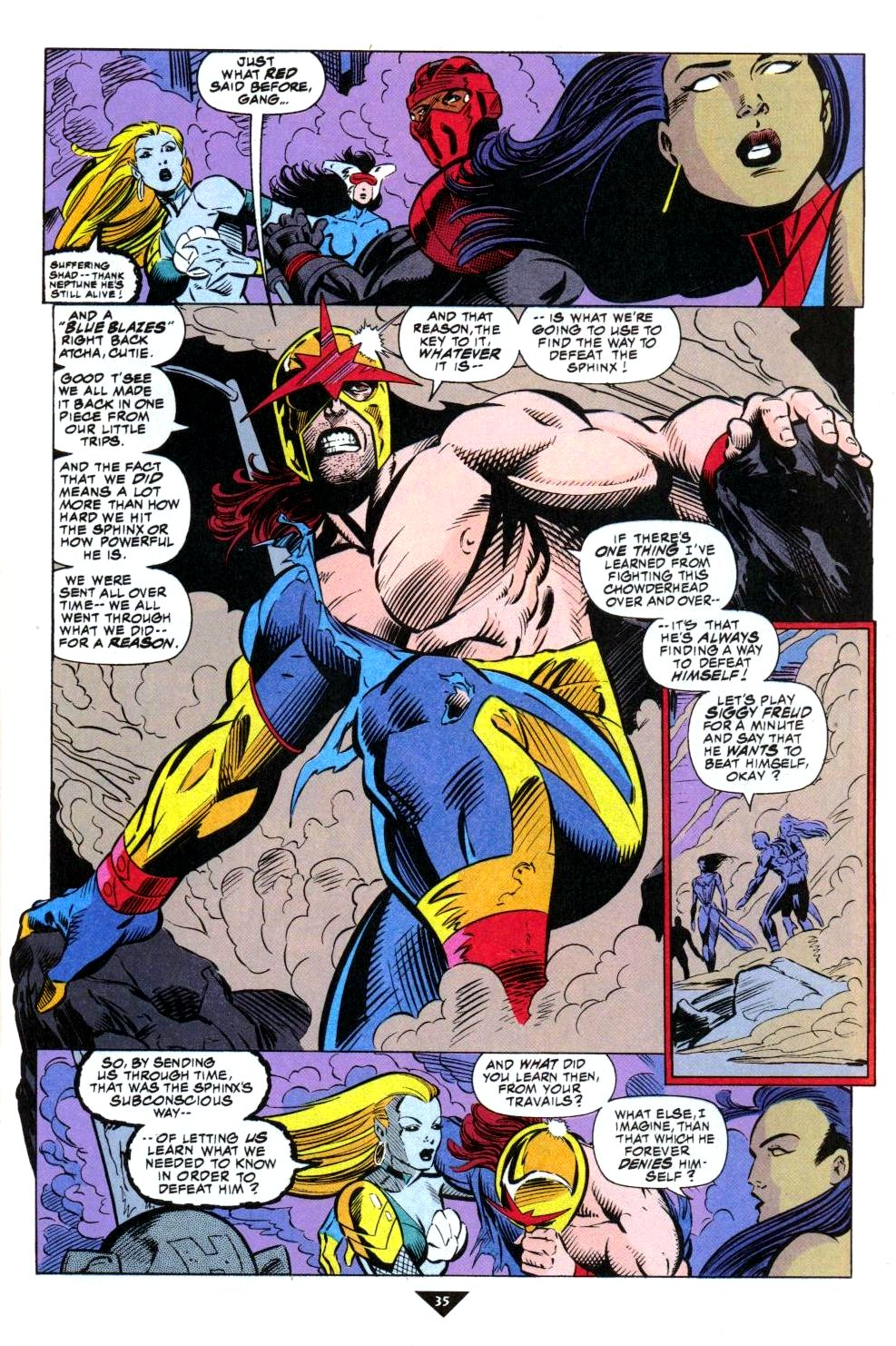 The New Warriors Issue #50 #54 - English 28